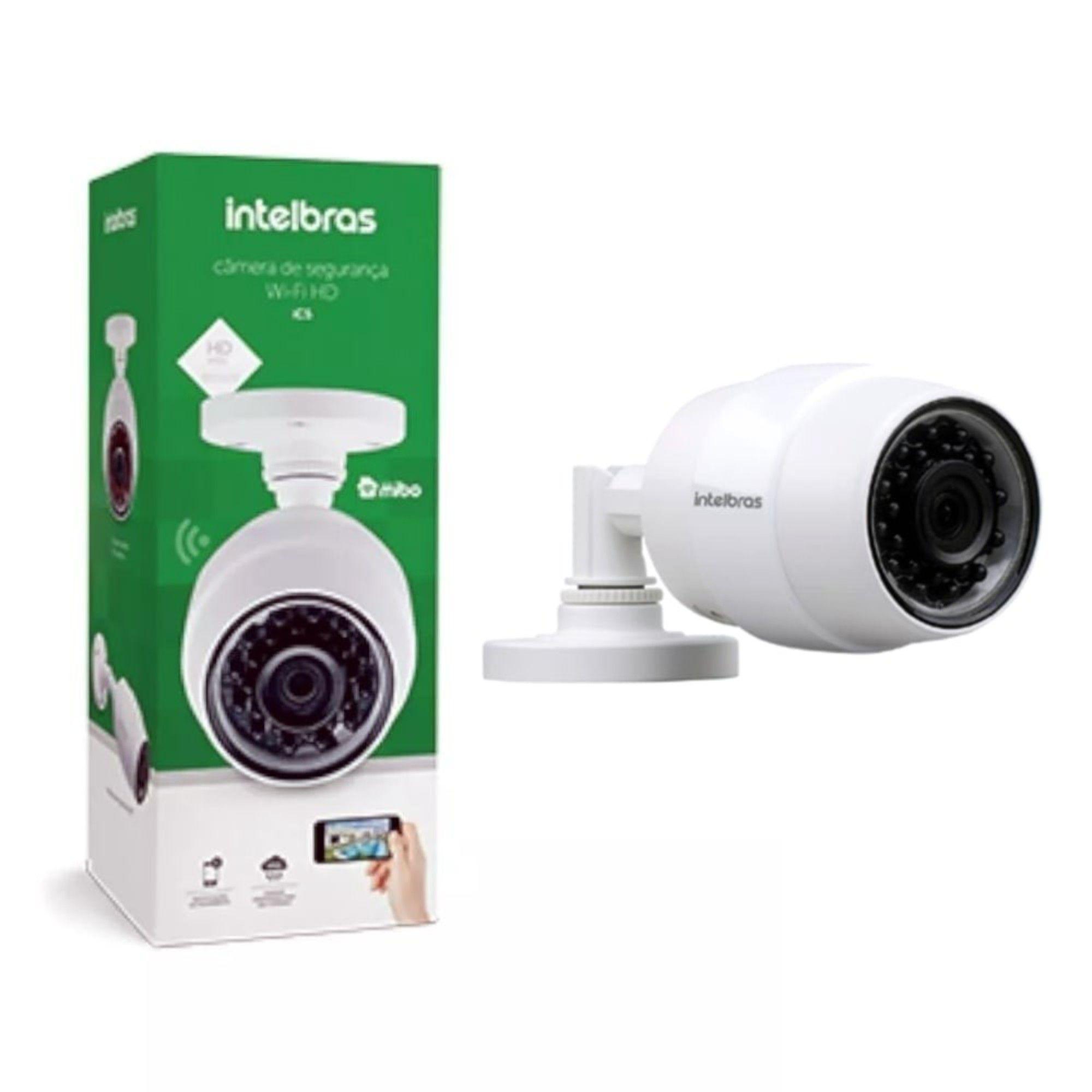 Câmera Wifi HD Intelbras iC5