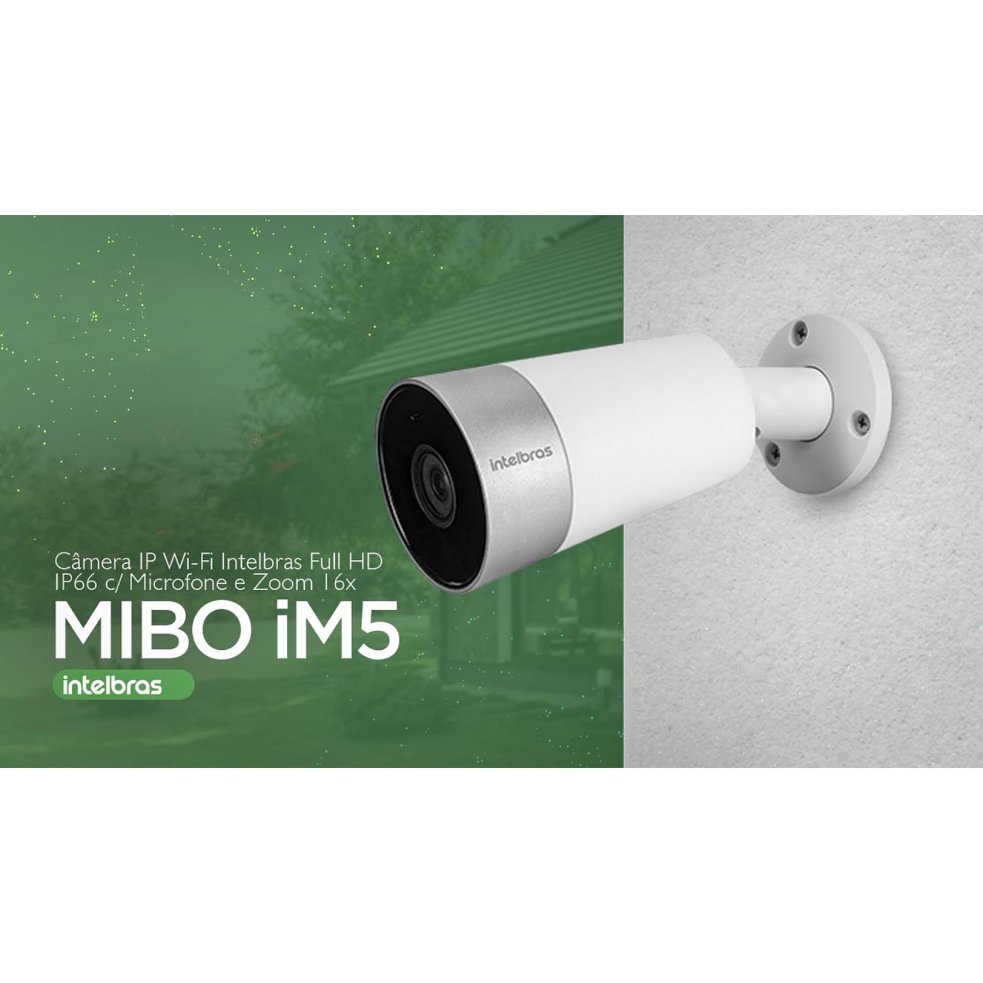 Câmera Wifi HD Intelbras Mibo iM5