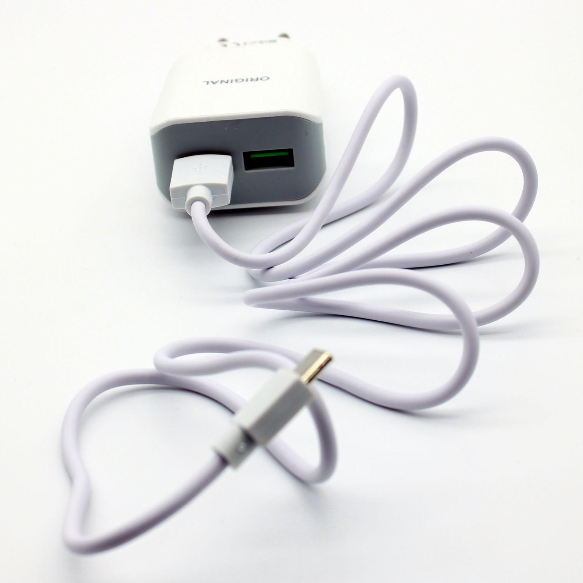 Carregador Tipo C Carga Rápida C/ Cabo USB