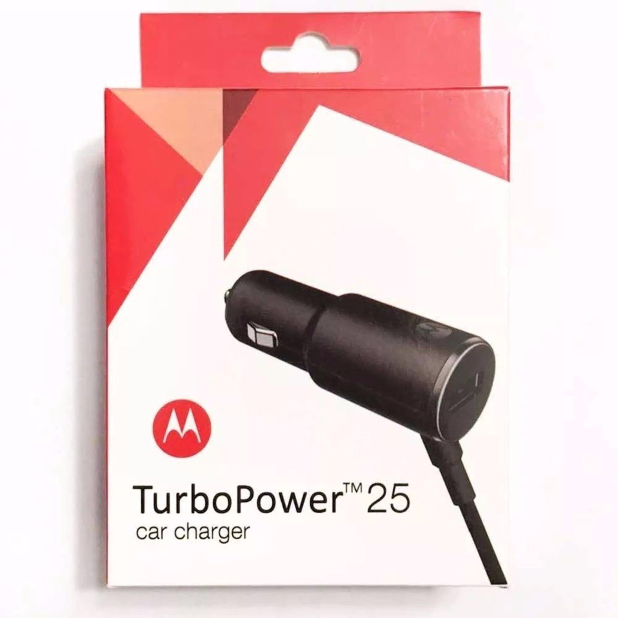 Carregador Veicular Motorola Turbo Power25