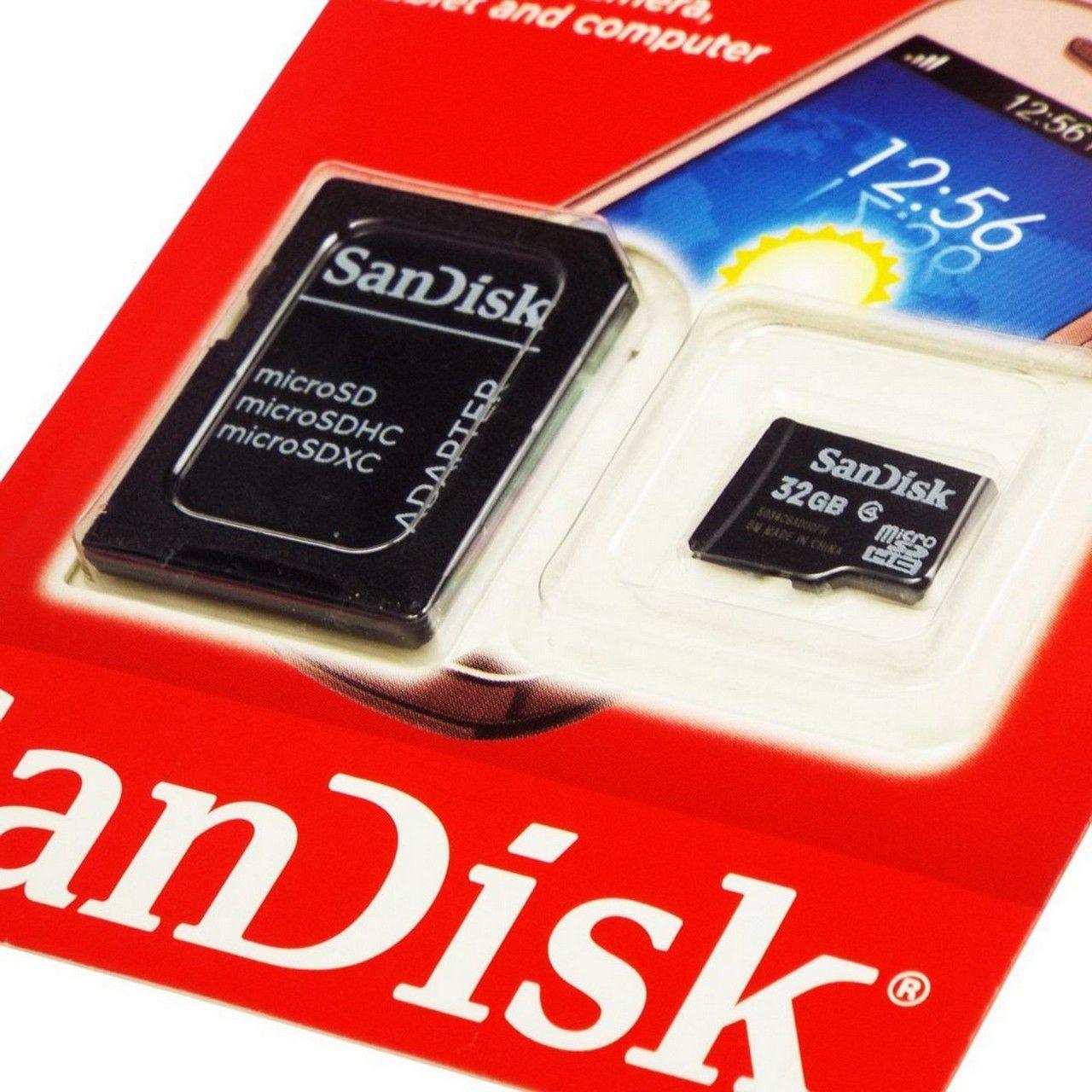 Cartão de Memória 32GB SanDisk