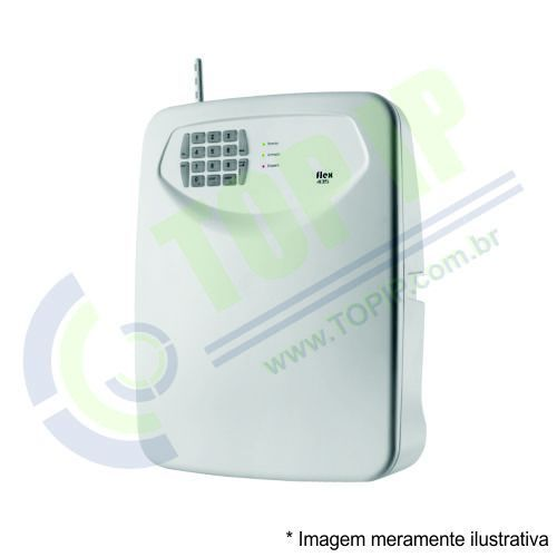 Central de Alarme Com Discador TEM FLEX-435