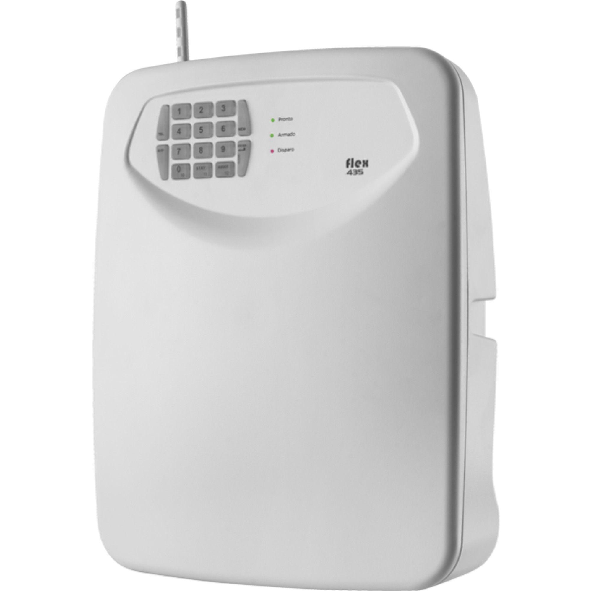 Central de Alarme C/ Discador TEM FLEX-435