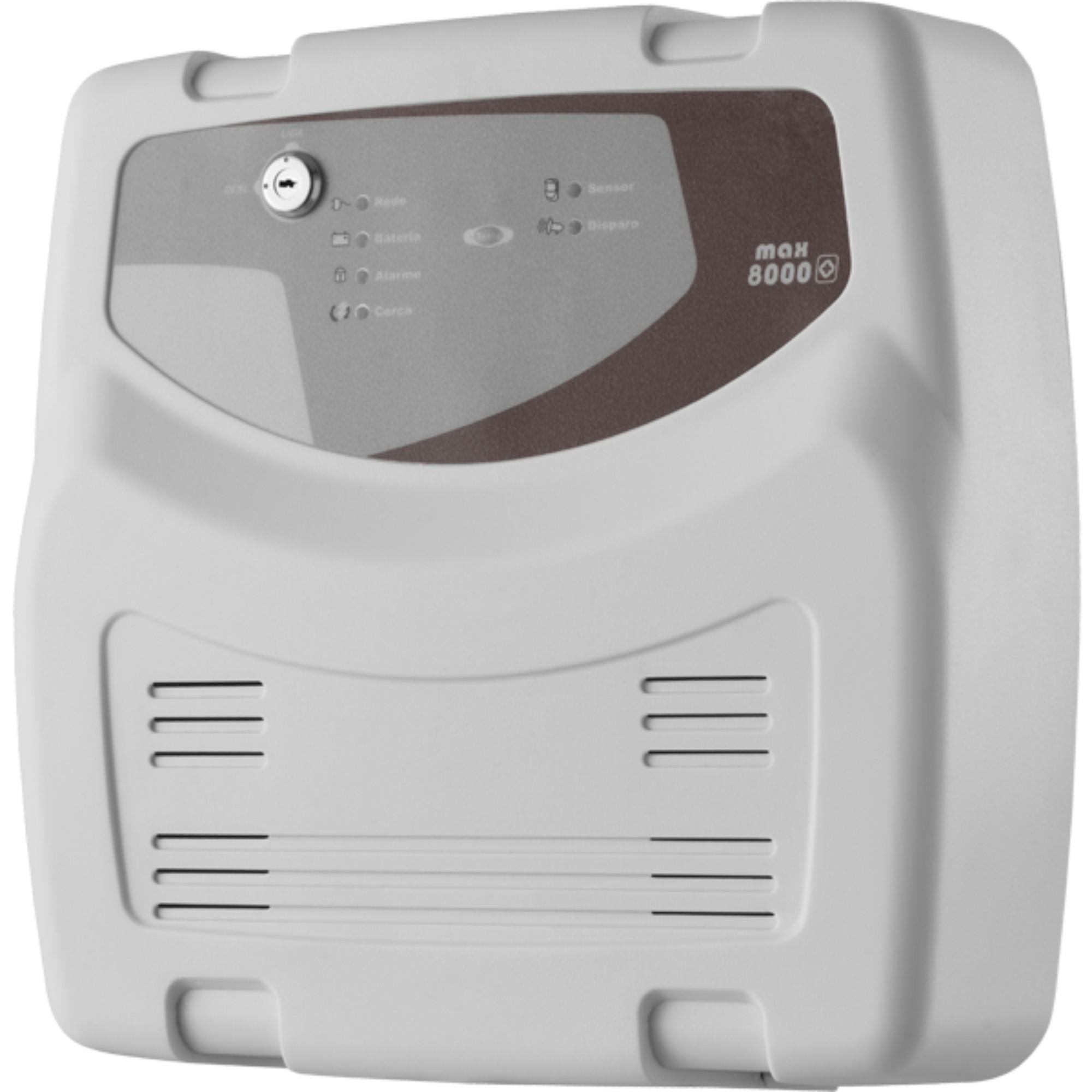 Central De Choque Eletrificador P/ Cerca Elétrica TEM MAX 8000