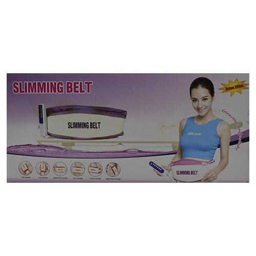 Cinta Massageadora Abdominal Redutora De Medidas Slimming Belt 127/220v