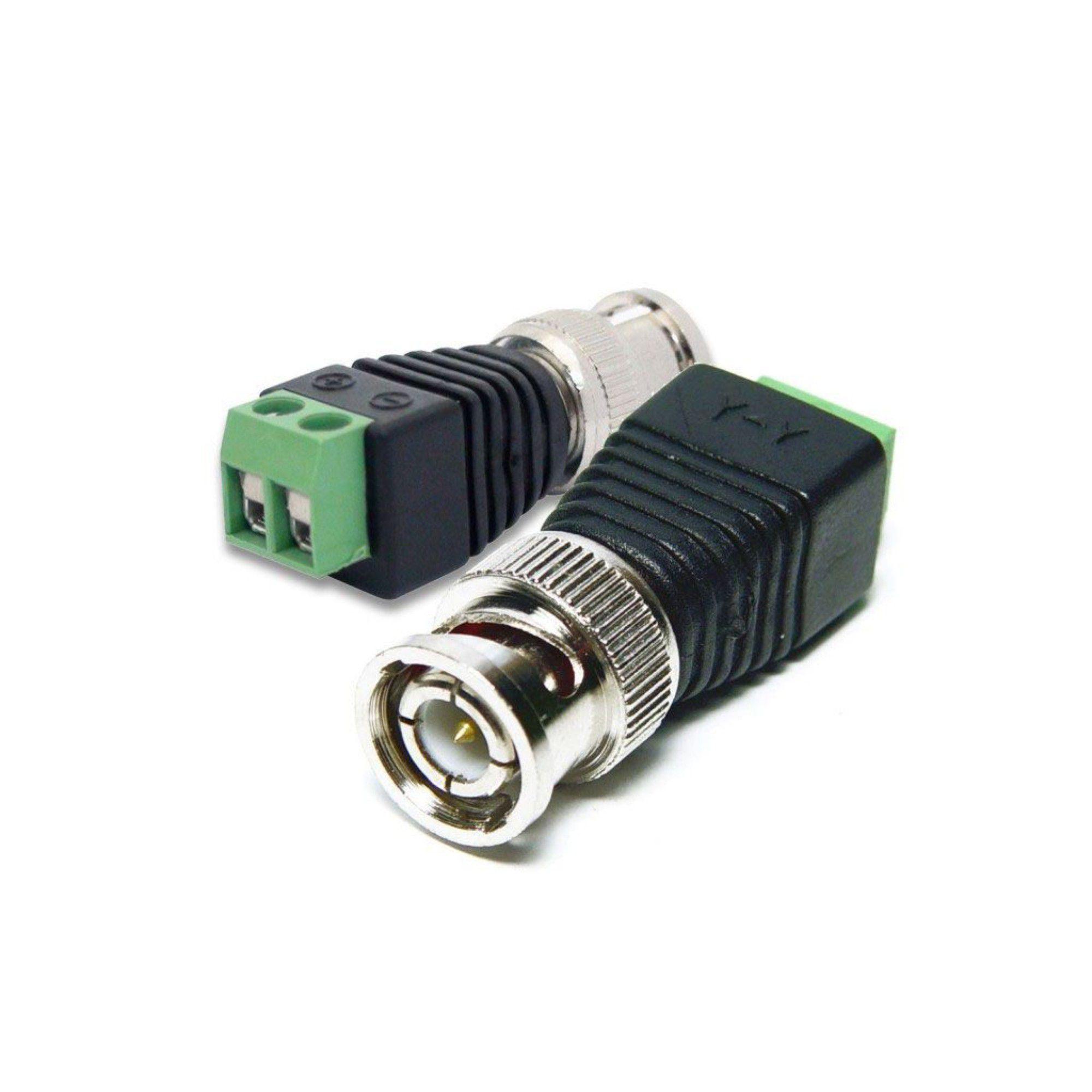 Conector BNC C/ Borne C/ 5 Unidades