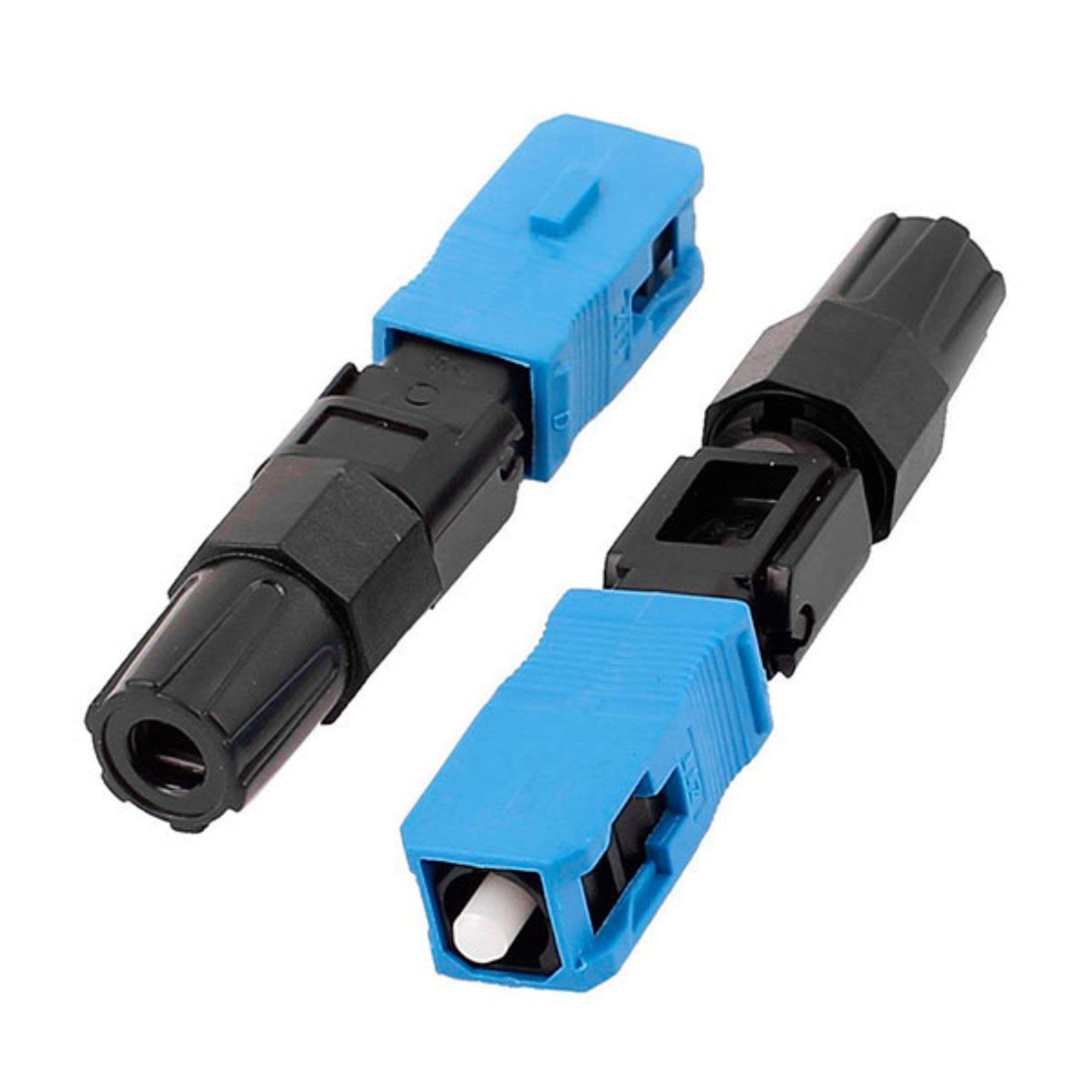 Conector Óptico De Rosca Sc Upc 2FLEX C/ 2 Unidades