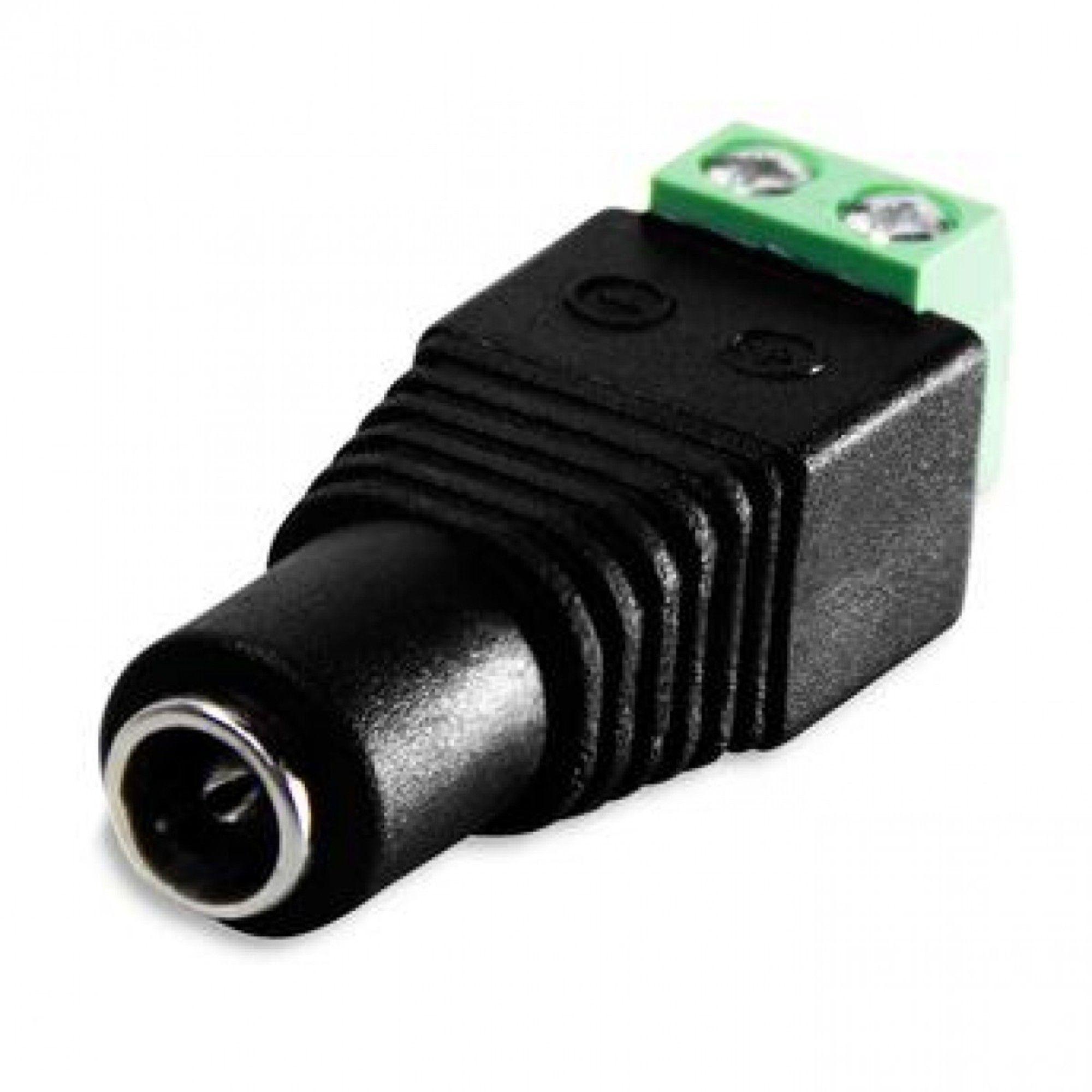 Conector P4 Fêmea com Borne - 5 unidades JPX