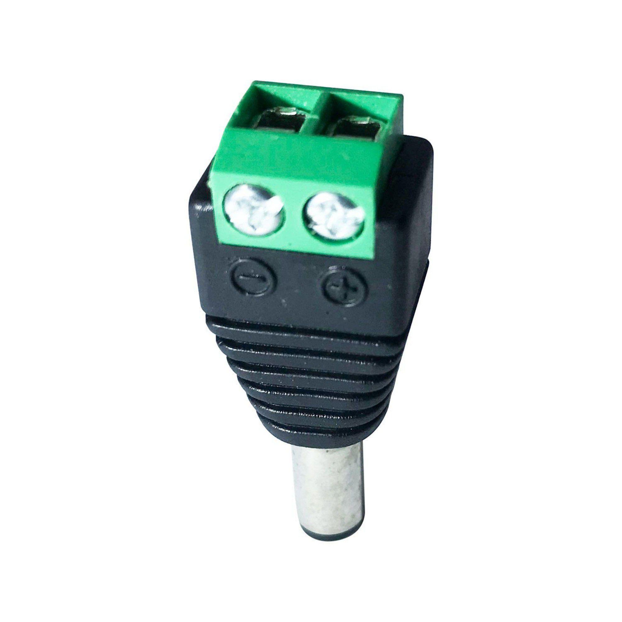Conector P4 Macho C/ Borne C/ 5 unidades JPX