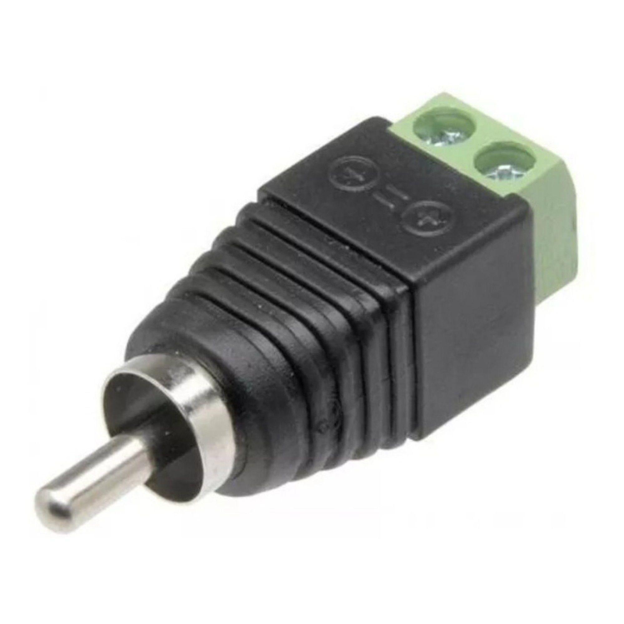 Conector RCA C/ Borne C/ 5 unidades JPX