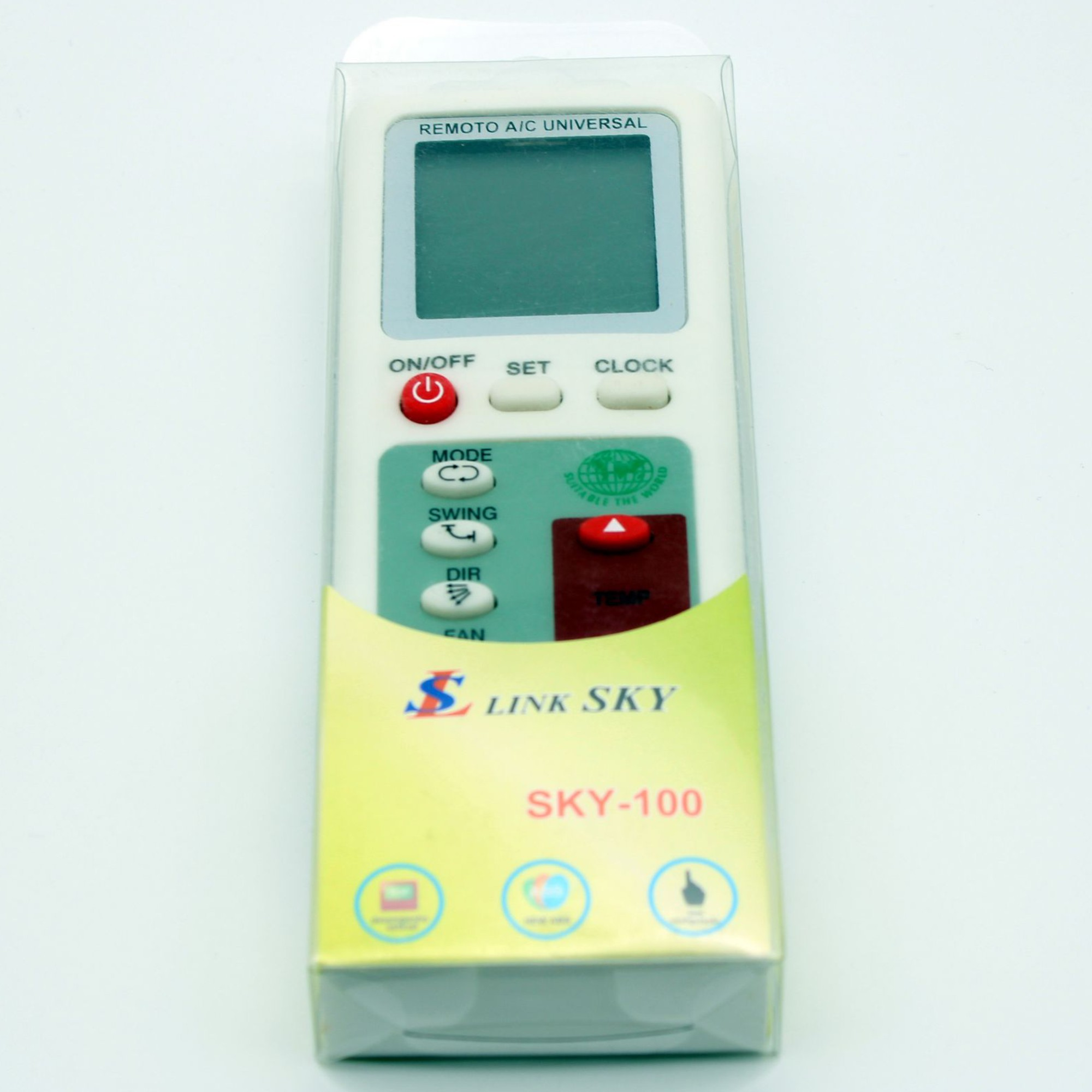 Controle Remoto Ar Condicionado Universal Sky-100