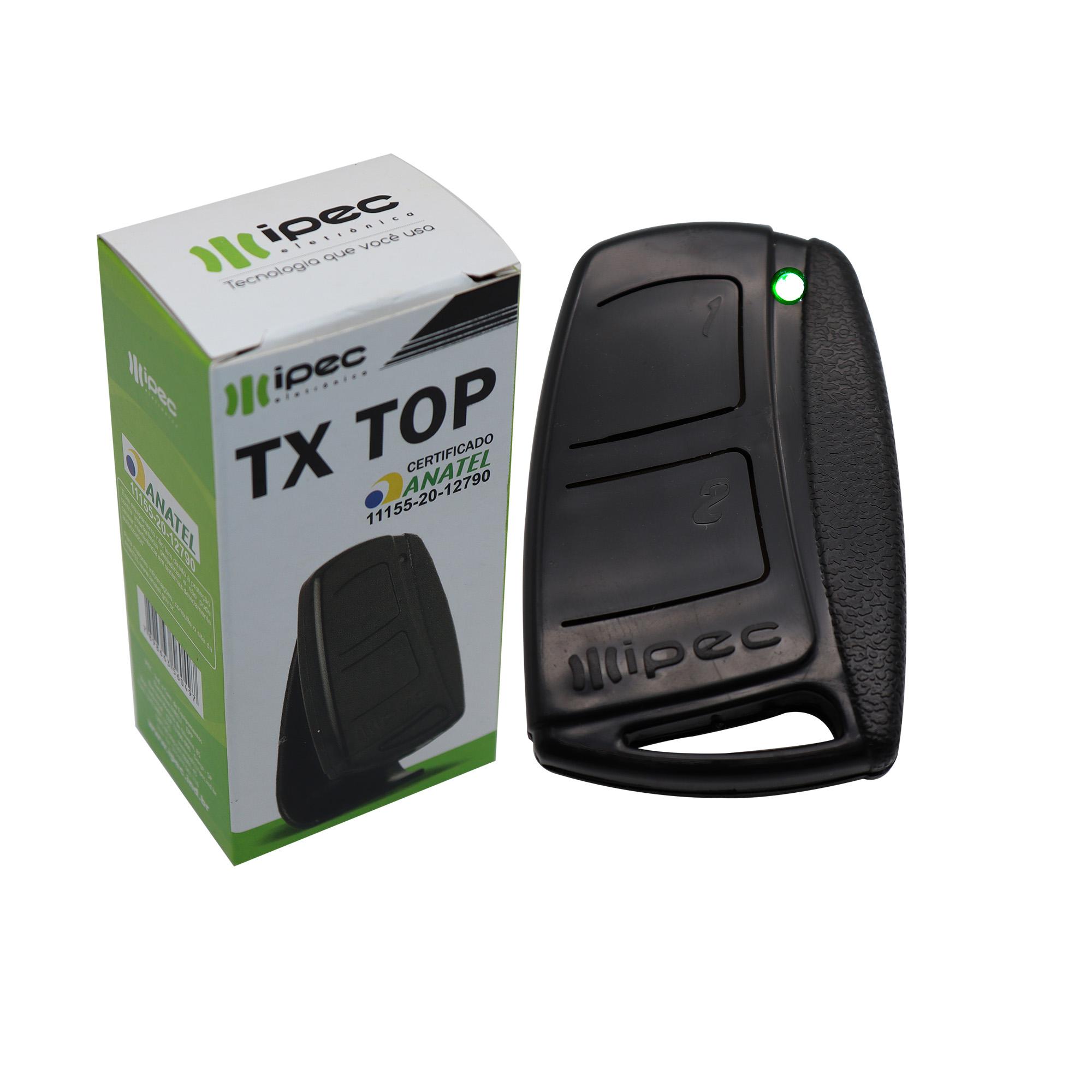 Controle Remoto Tx-Top Ipec 433,92 Mhz