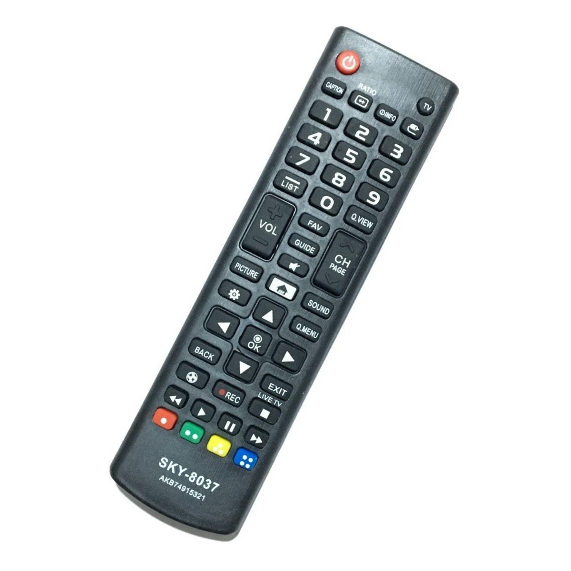 Controle Remoto Tv LG Sky-8037