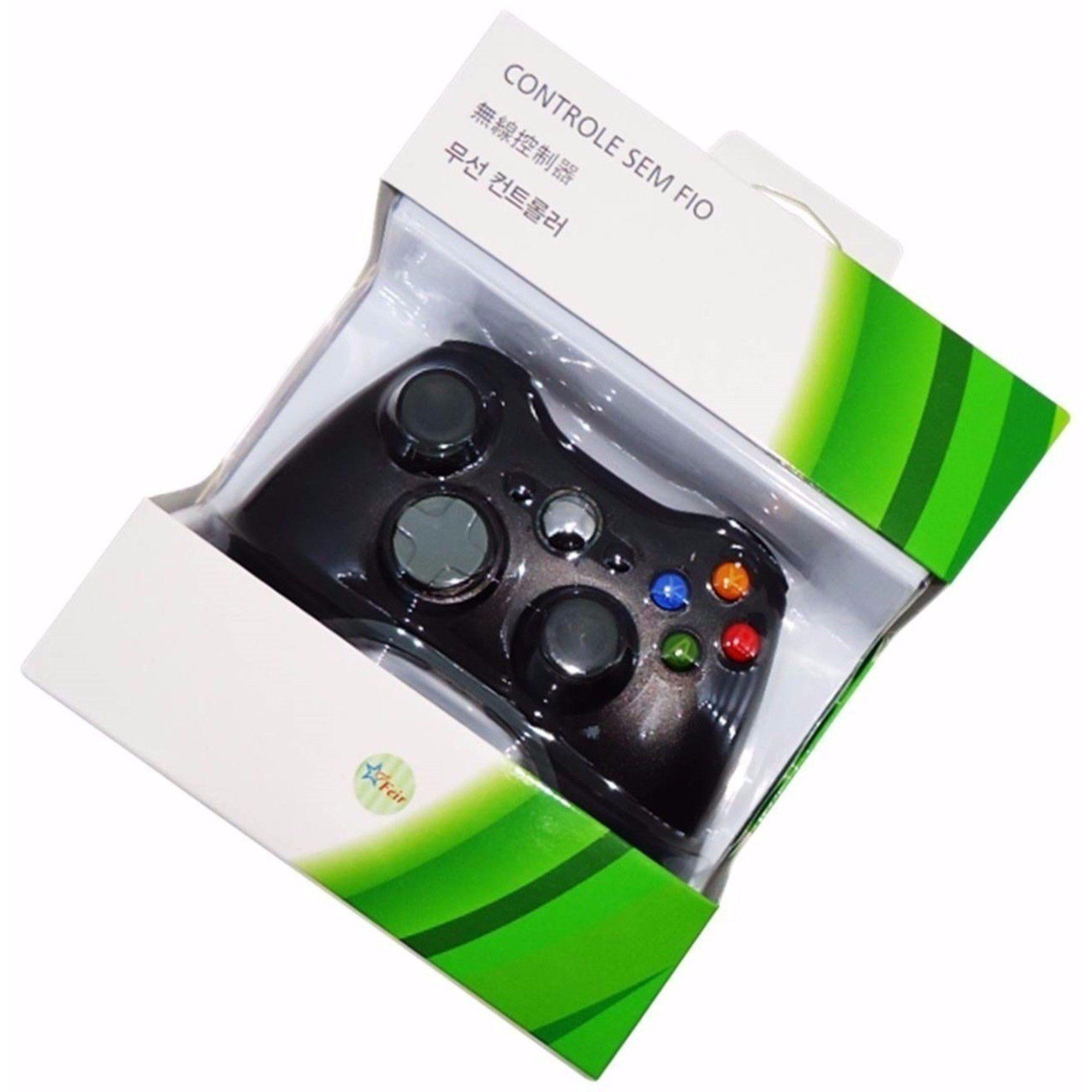 Controle Wireless Sem Fio P/ Xbox 360