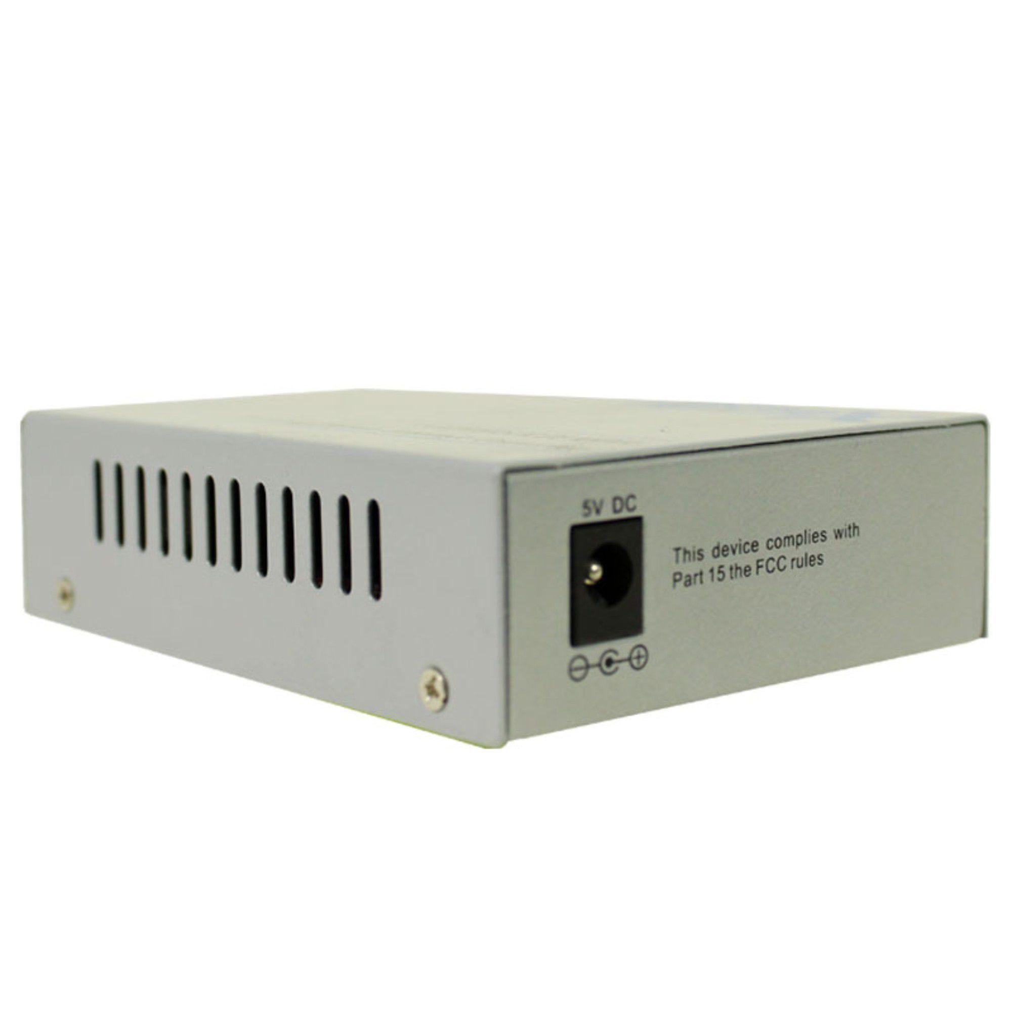Conversor De Mídia P/ Fibra Óptica Lb 20km 2Flex