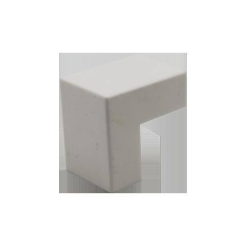 Cotovelo P/ Canaleta 20x10mm Sistema X Externo Branco C/ 10 Unidades