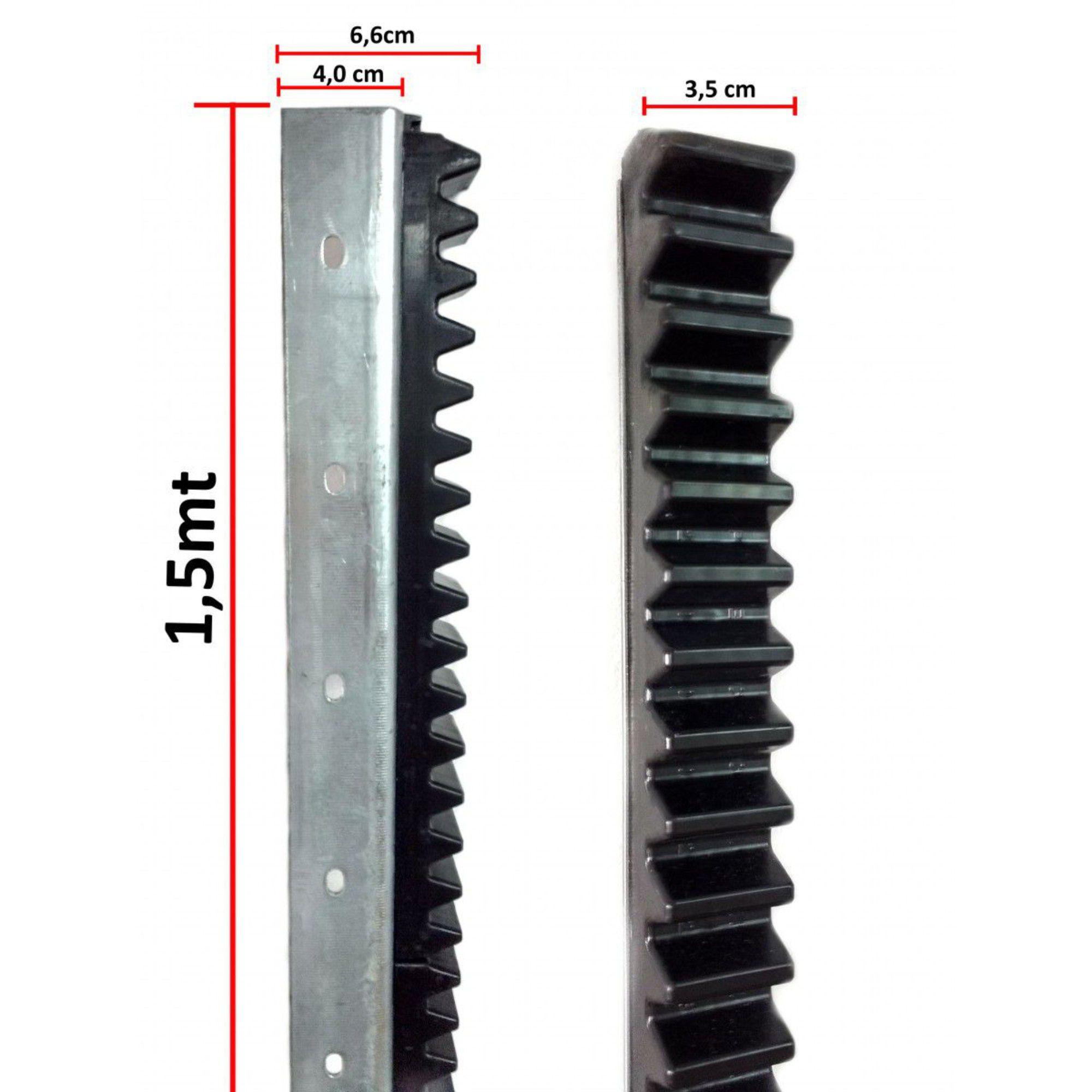 Cremalheira Barra Dentada TEM 1,5 Metros P/ Portão Automático