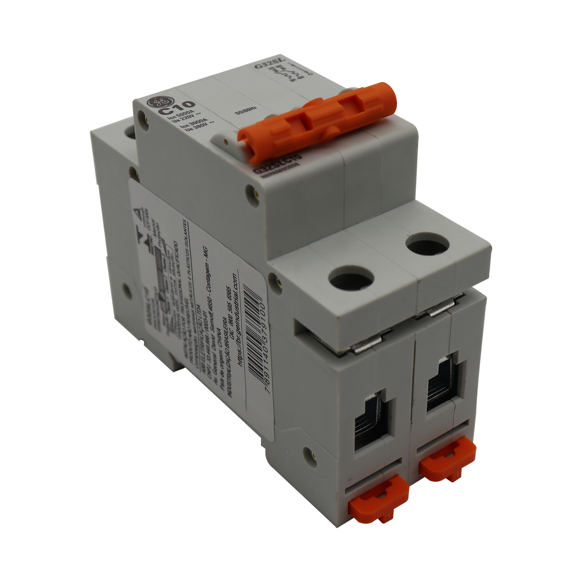 Disjuntor Termomagnético Bipolar General Eletric G32SLC10C