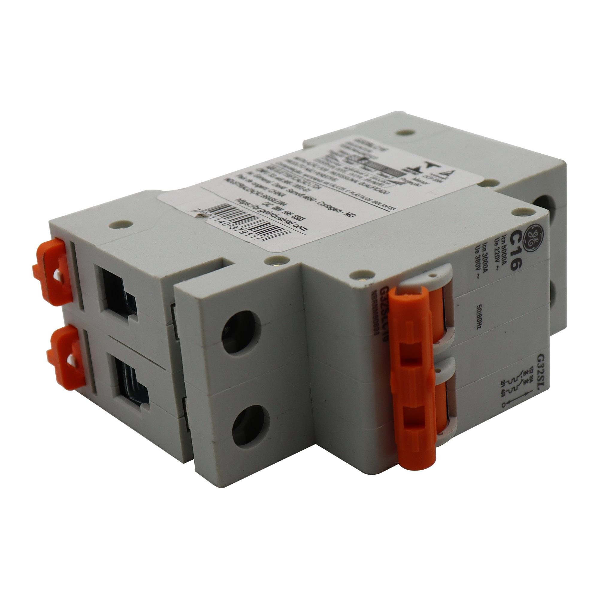 Disjuntor Termomagnético Bipolar General Eletric G32SLC16