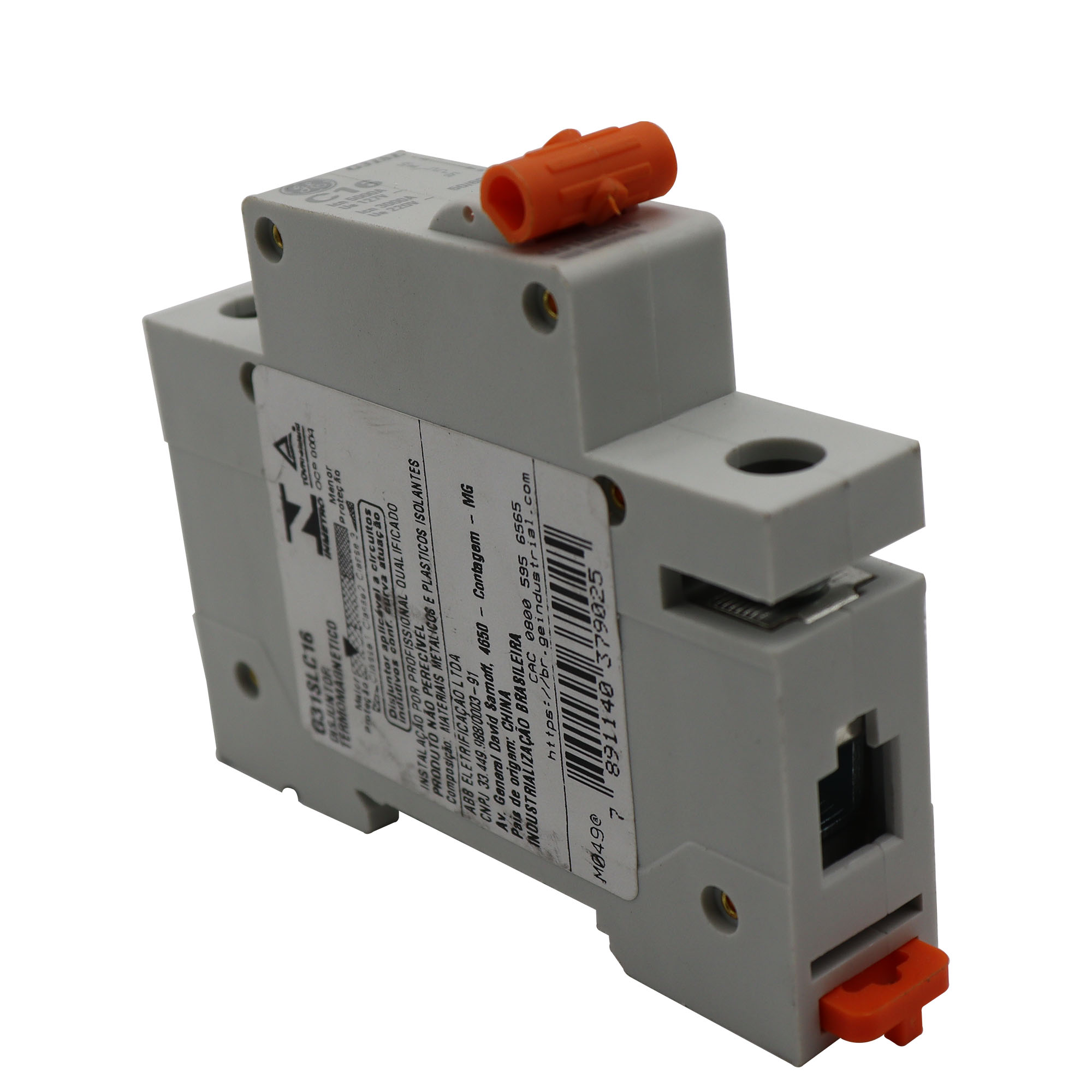 Disjuntor Termomagnético Unipolar General Eletric G31SLC16