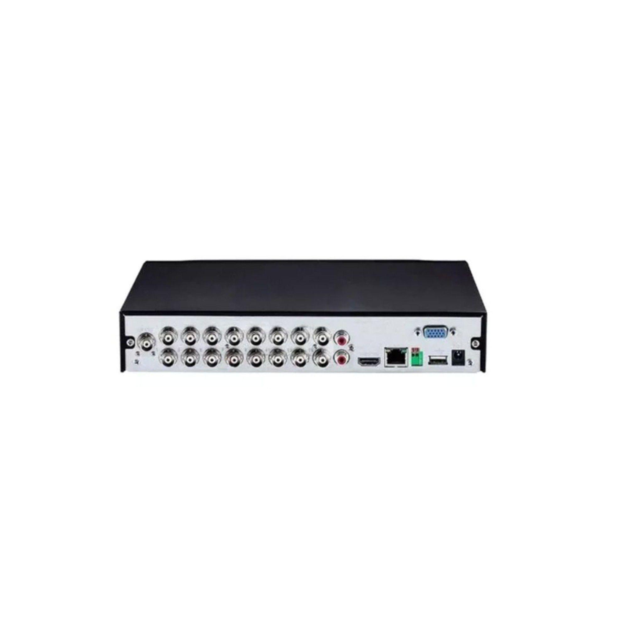 Dvr 16 Canais Multi Hd Mhdx 3116 Full Hd 1080p Intelbras