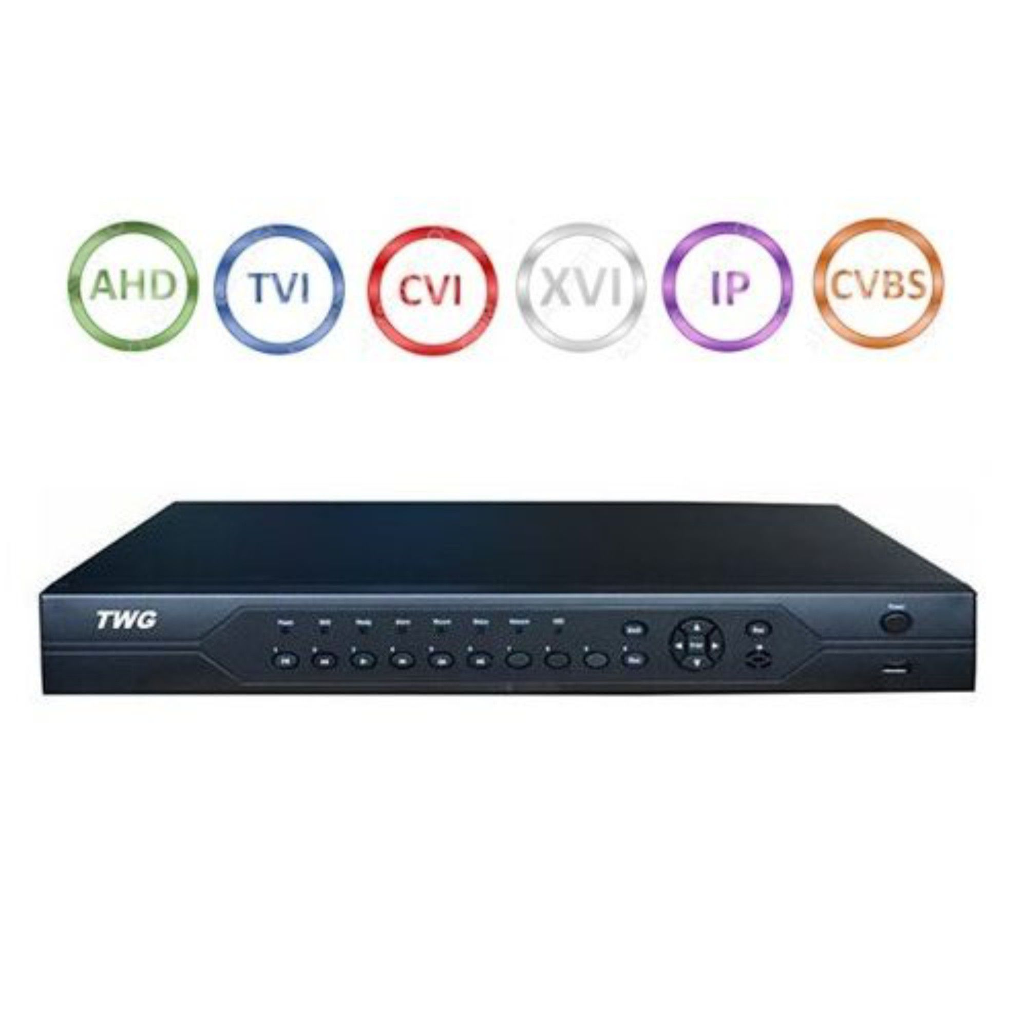 DVR Stand Alone 32 Canais TWG Full HD 5 em 1