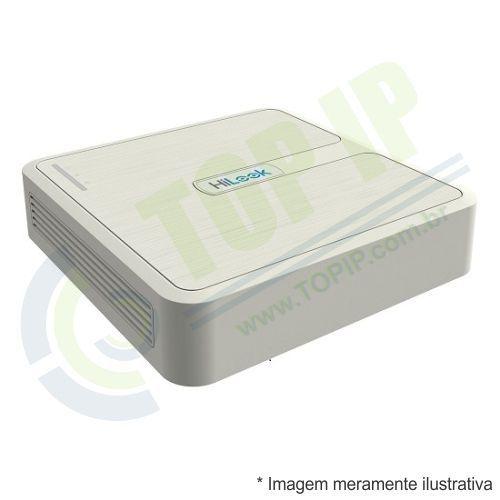 DVR Stand Alone 4 Canais HILOOK 1080p 5 em 1 (AHD, HDCVI, HDTVI, IP e ANALÓGICO)