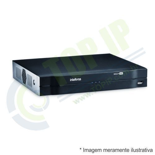 DVR Stand Alone 4 Canais INTELBRAS HDCVI MHDX 1004 MULTI HD