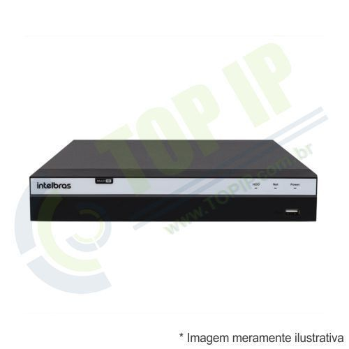 DVR Stand Alone 8 Canais INTELBRAS 3008 MULTI-HD