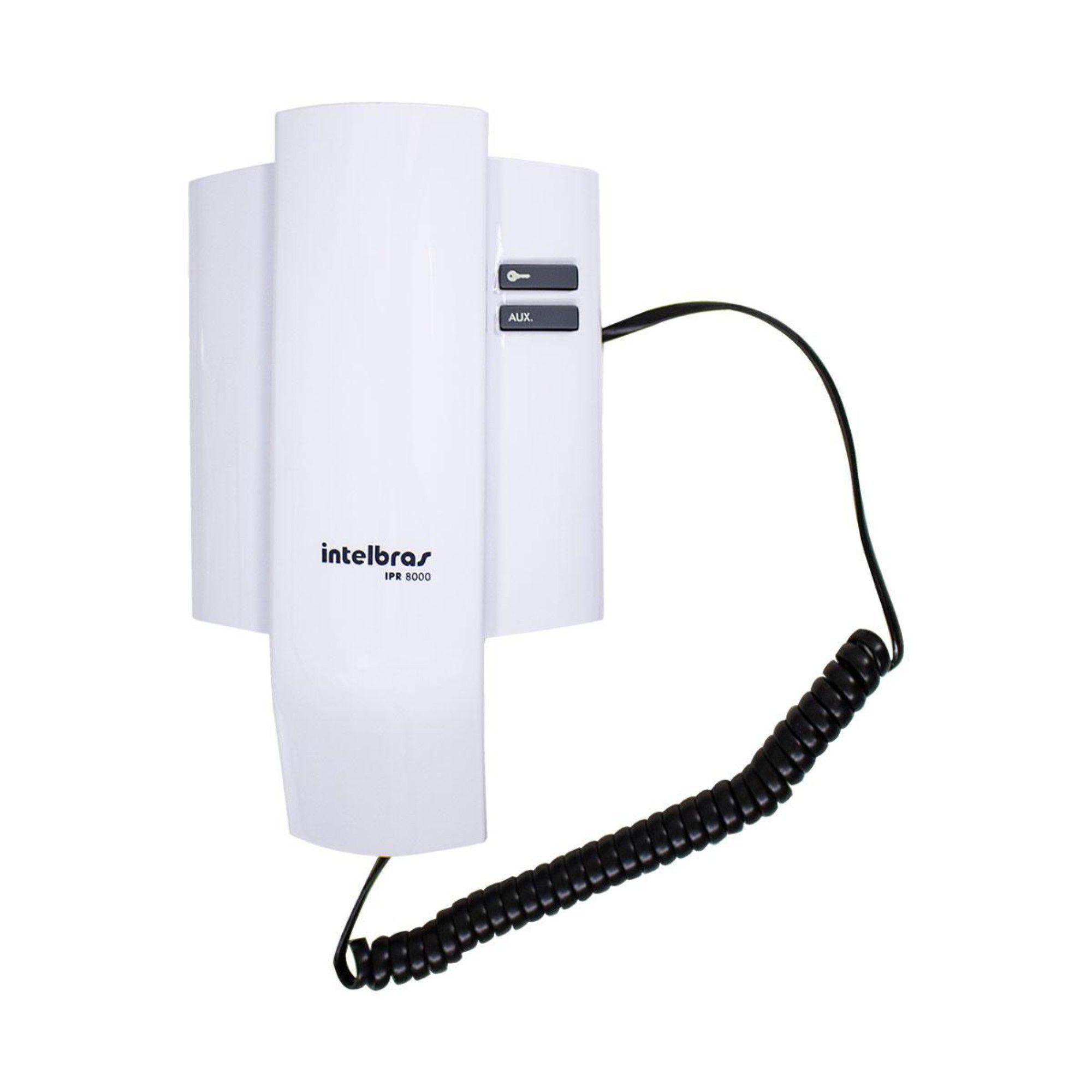 Extensão Intelbras Ipr8000 In Porteiro Eletrônico Interfone