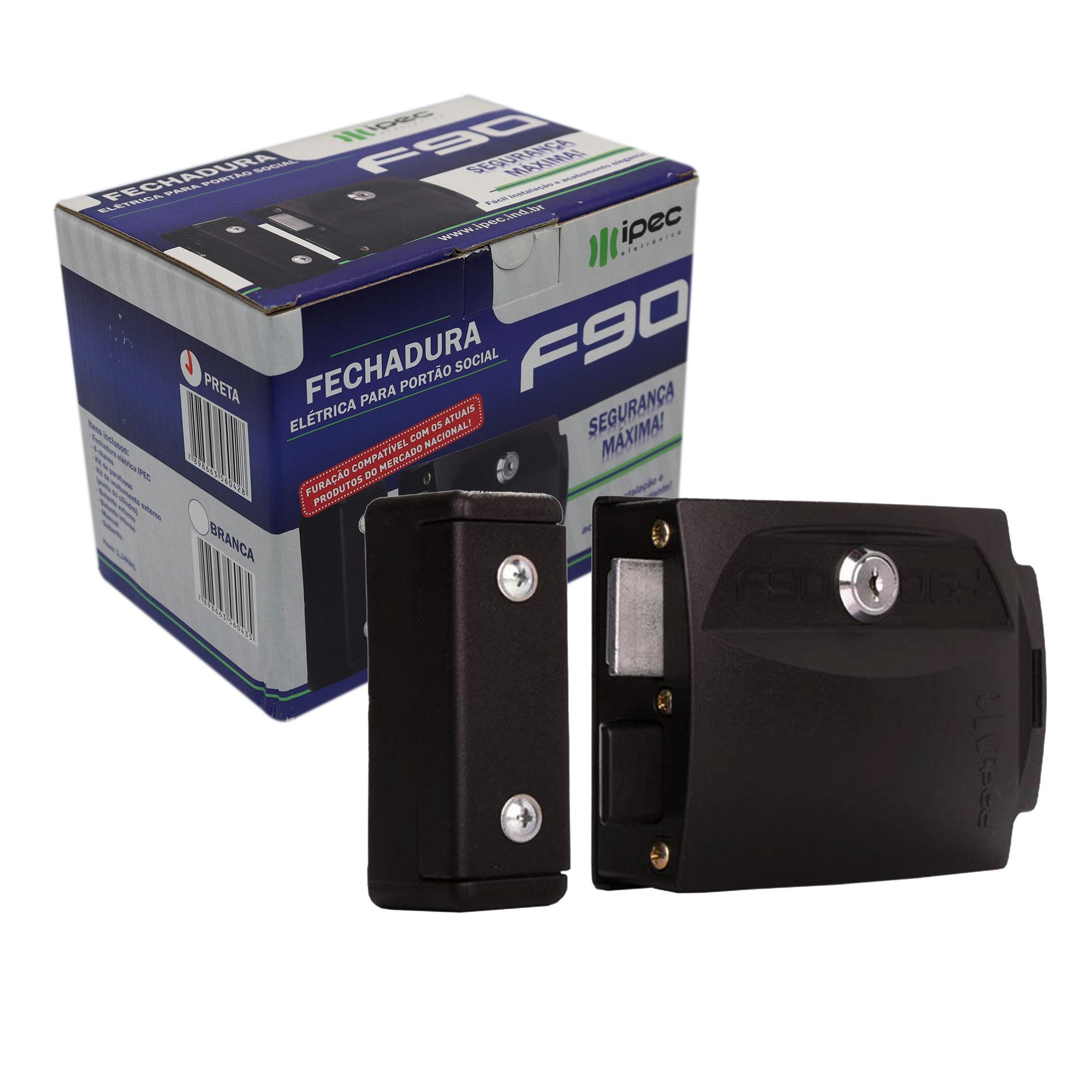 Fechadura Elétrica Ipec F90