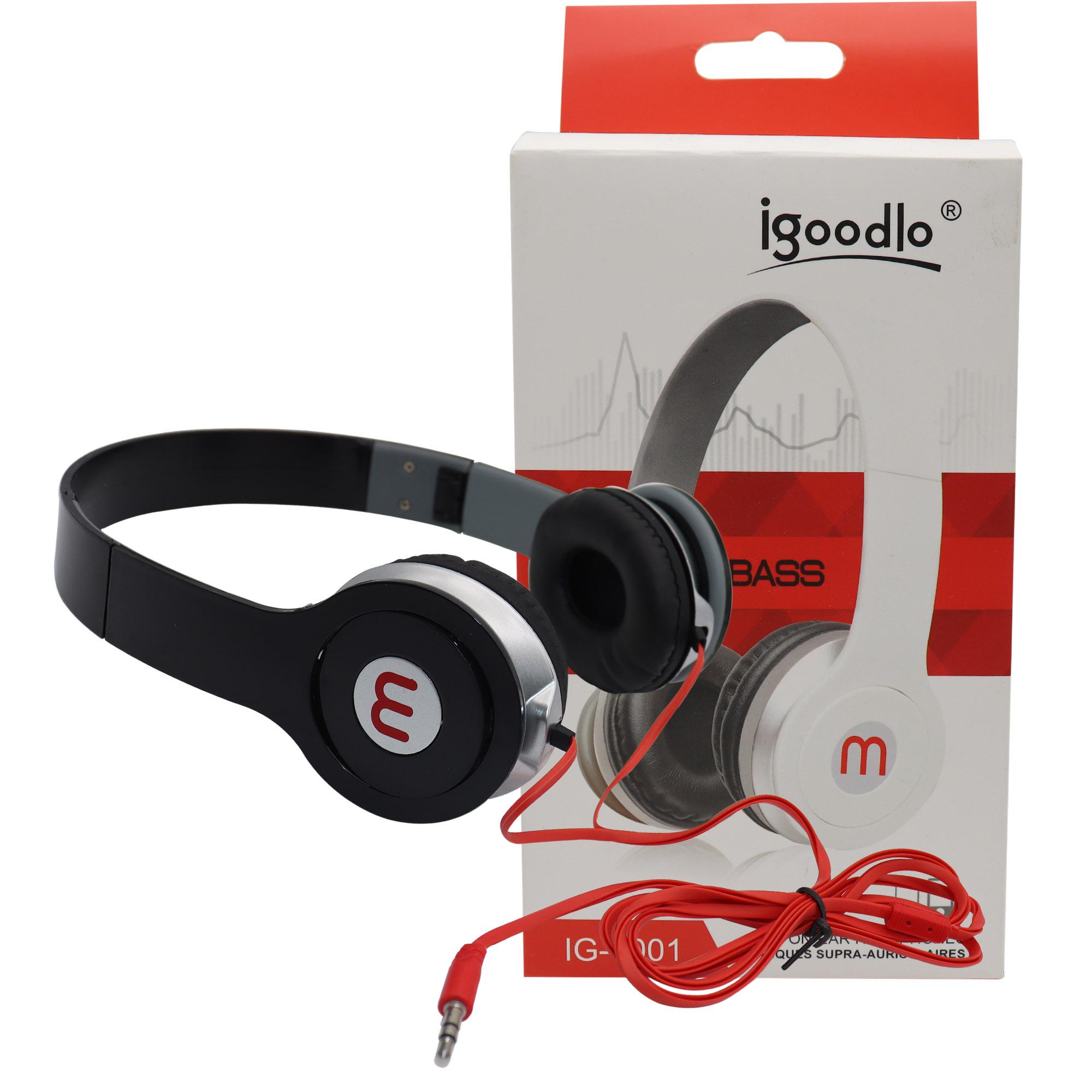 Fone de ouvido Headset Simples Pequeno C/ Fio