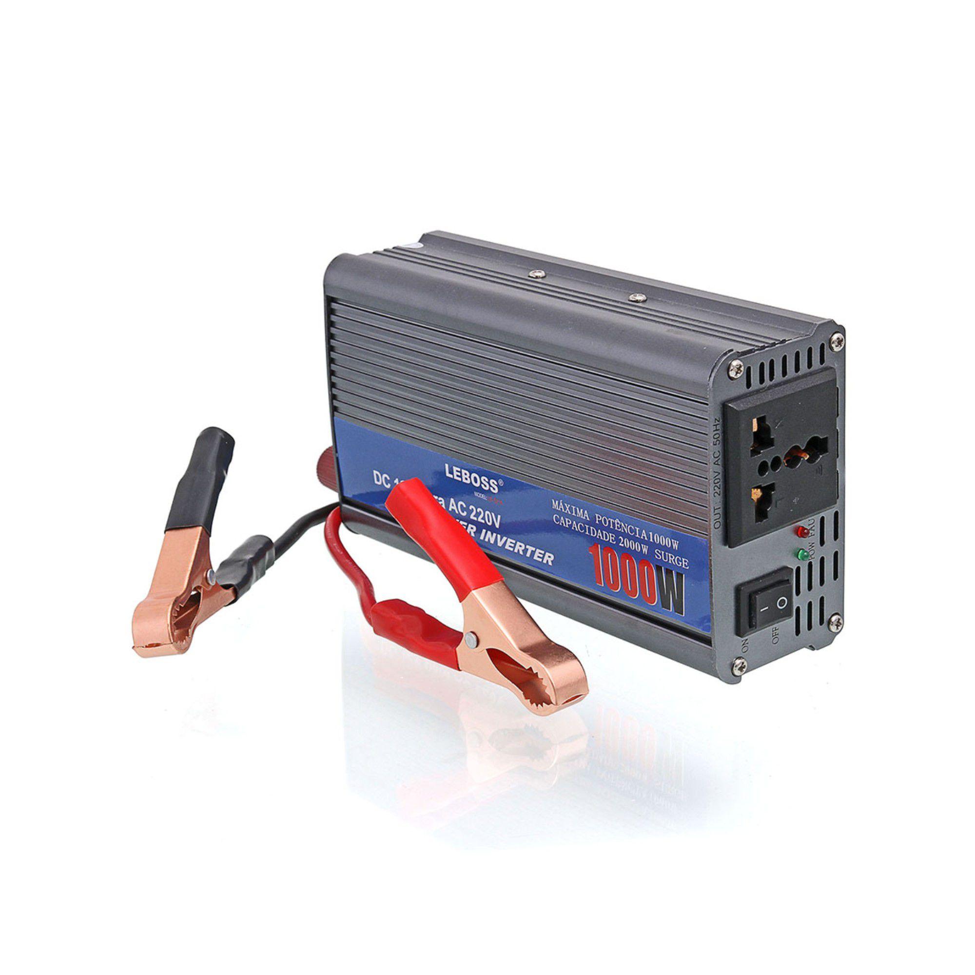 Inversor de Tensão Conversor Transformador 500w  12v x 110v