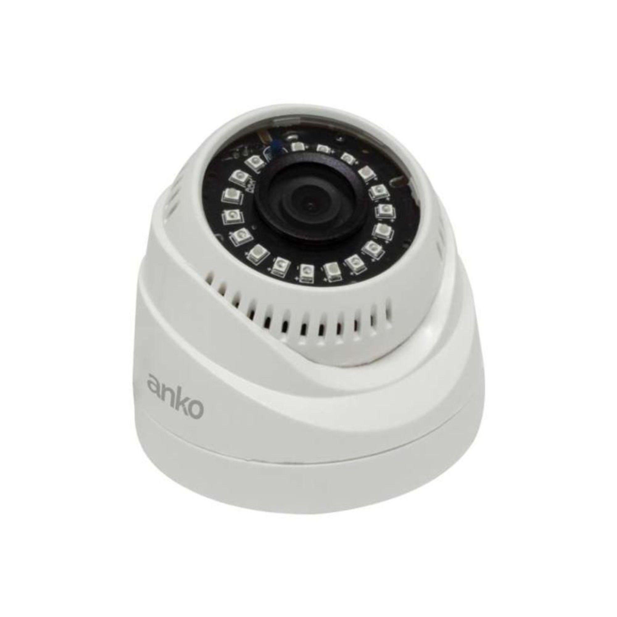 Kit CFTV Anko Completo 8 Câmeras AHD 720p DVR 8 Canais