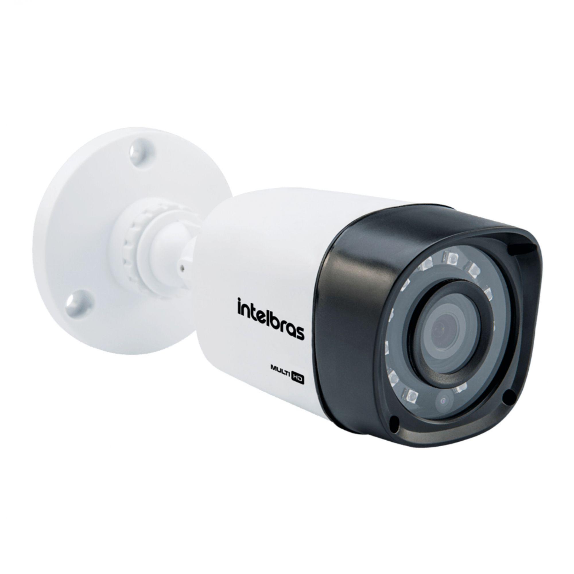 Kit CFTV Intelbras Completo 10 Câmeras AHD 720p DVR 16 Canais