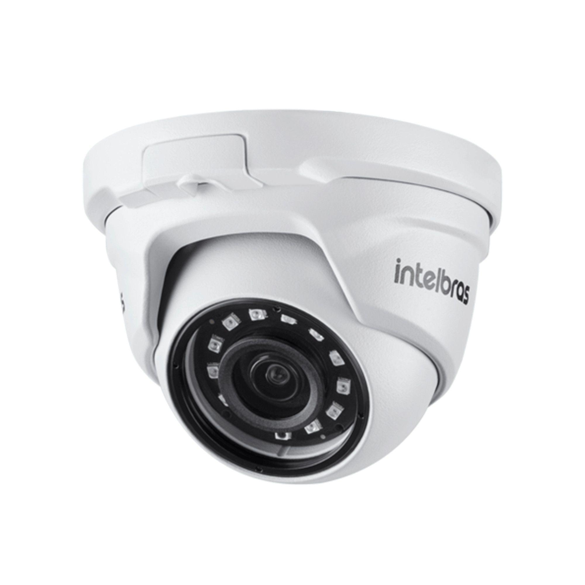 Kit CFTV Intelbras Completo 12 Câmeras AHD 720p DVR 16 Canais
