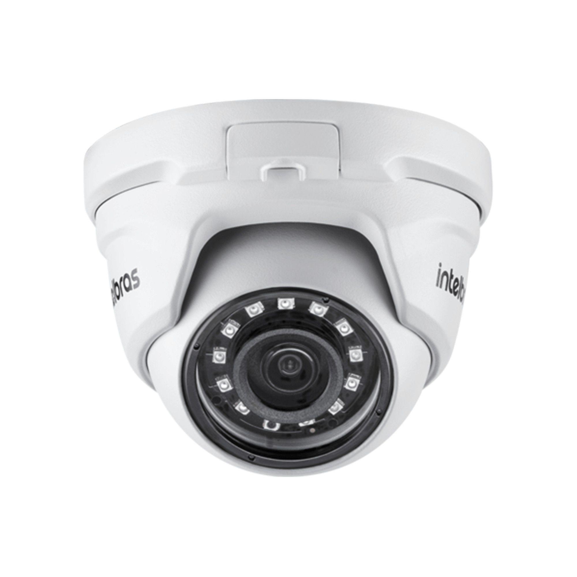 Kit CFTV Intelbras Completo 8 Câmeras AHD 720p DVR 8 Canais