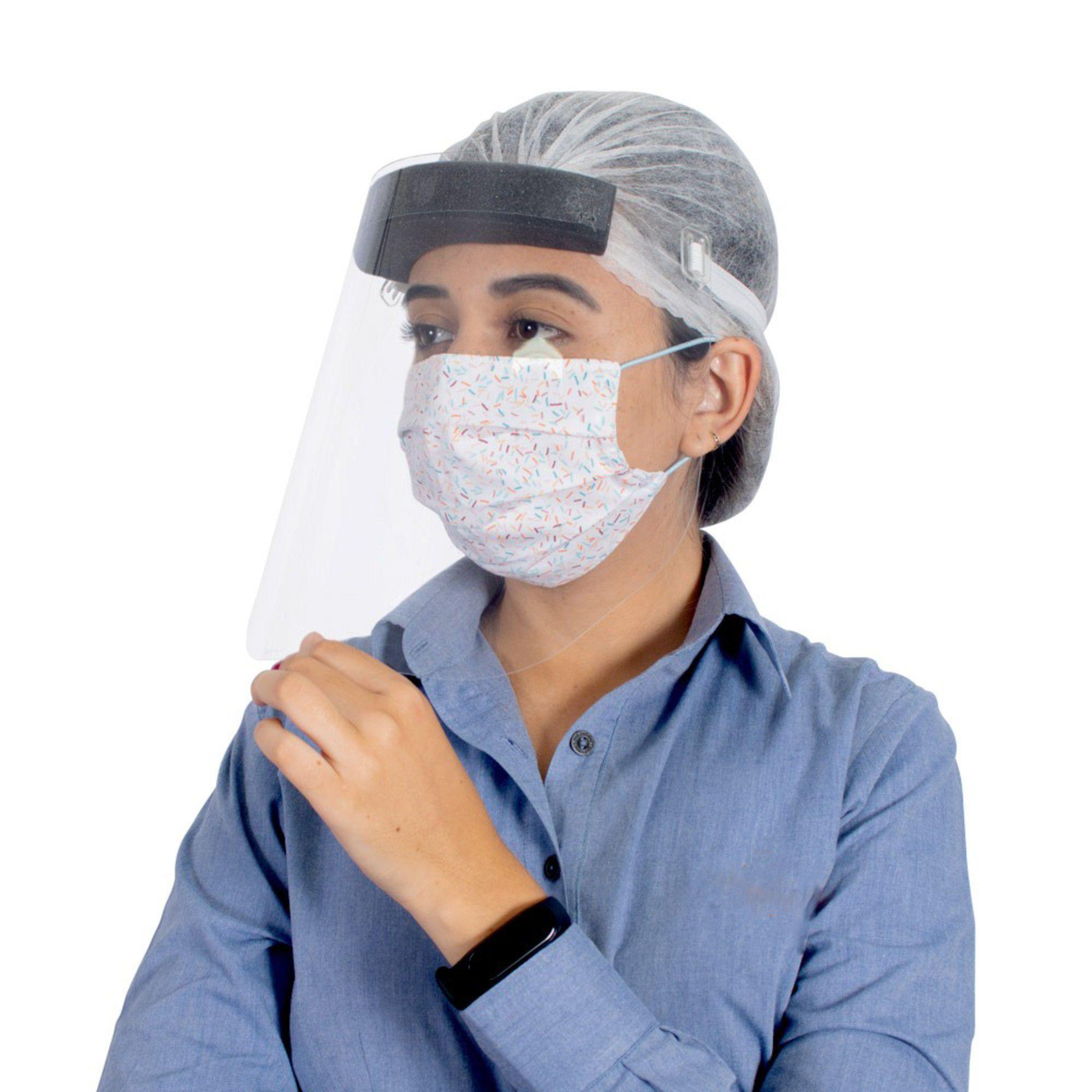Máscara Proteção Facial Face Shield