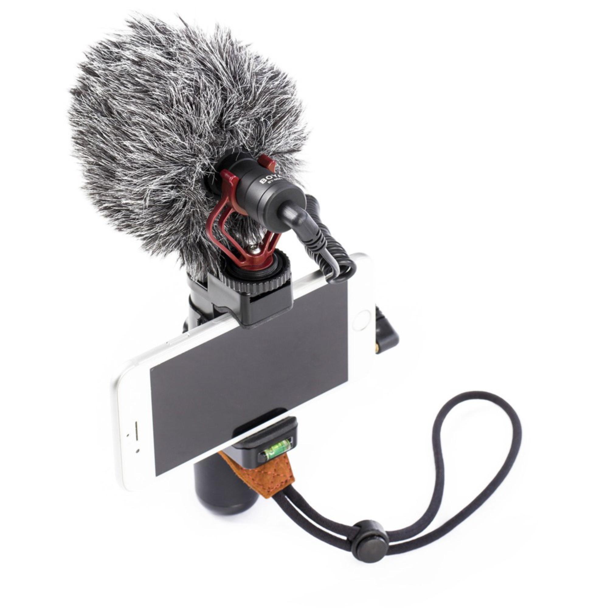 Microfone Boya BY-MM1 Cardioide Direcional Preto