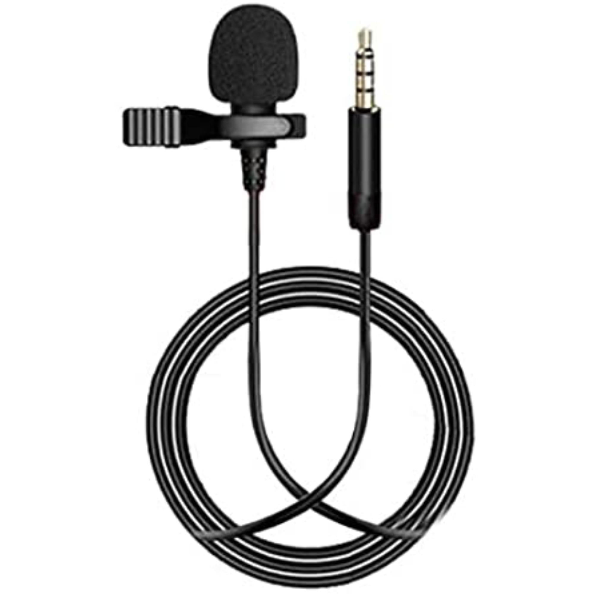 Microfone De Lapela Celular Smartphone Profissional Stereo