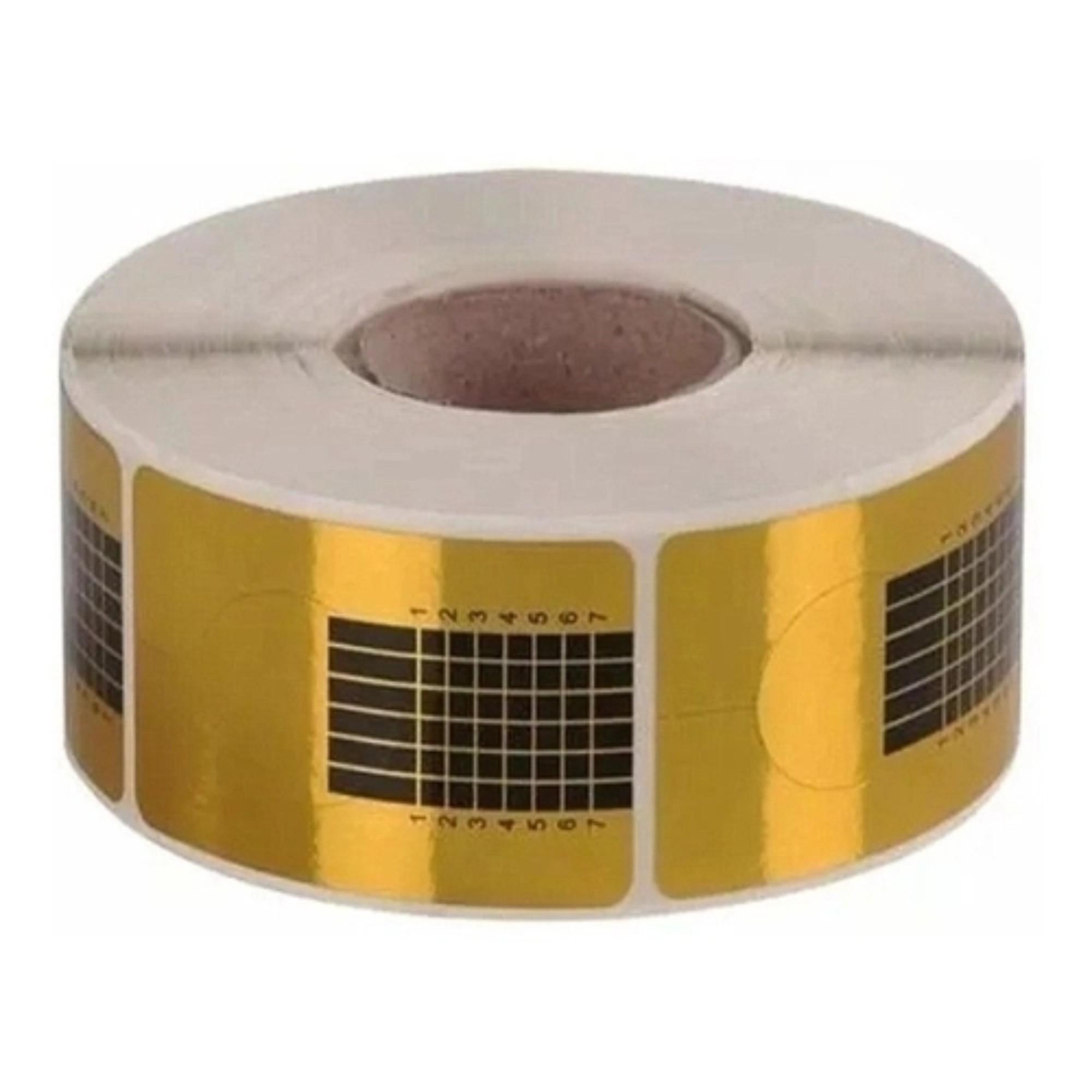 Moldes Adesivos De Papel Para Unha De Porcelana E Gel 500 Unidades