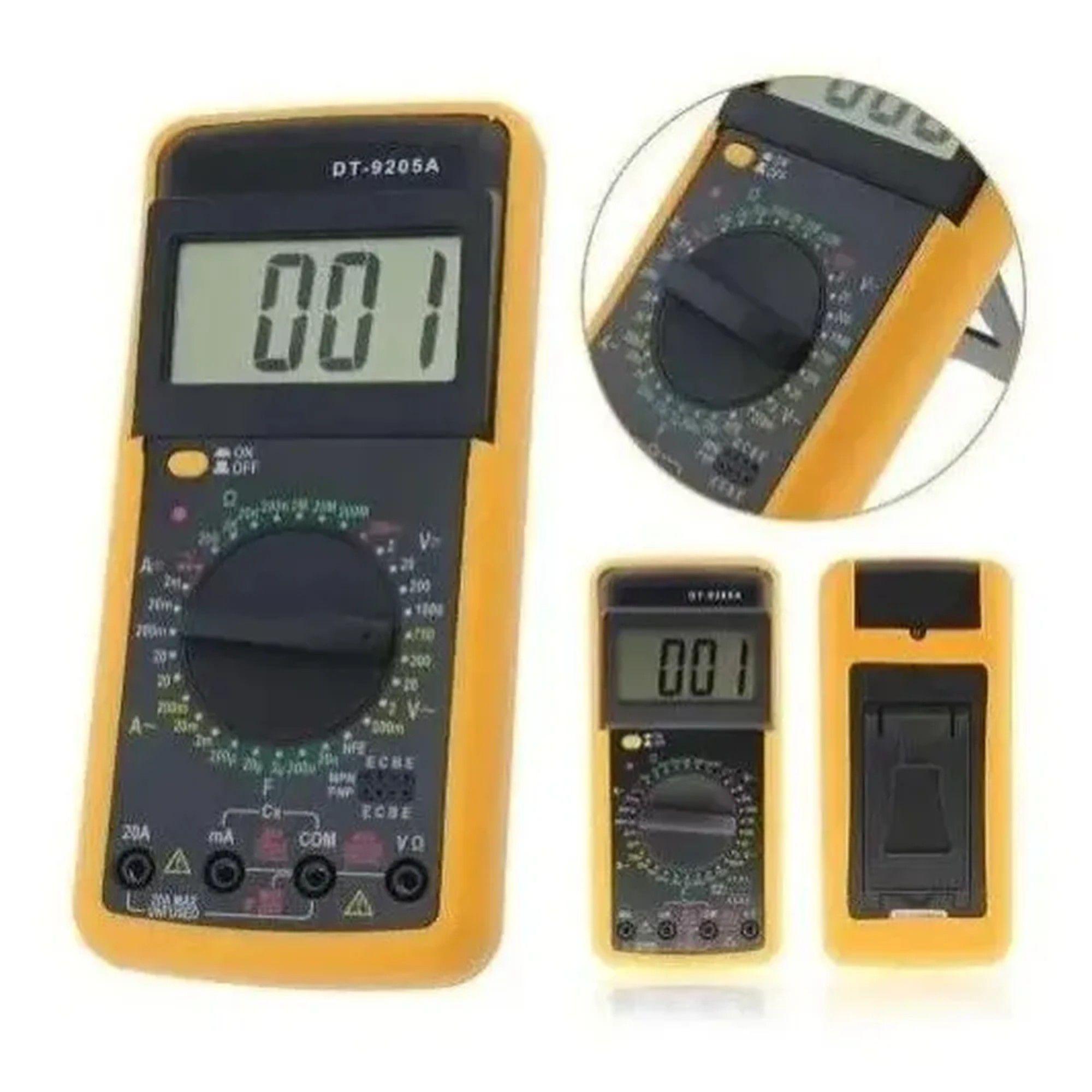 Multímetro Digital DT9205A C/ Display LCD 20A