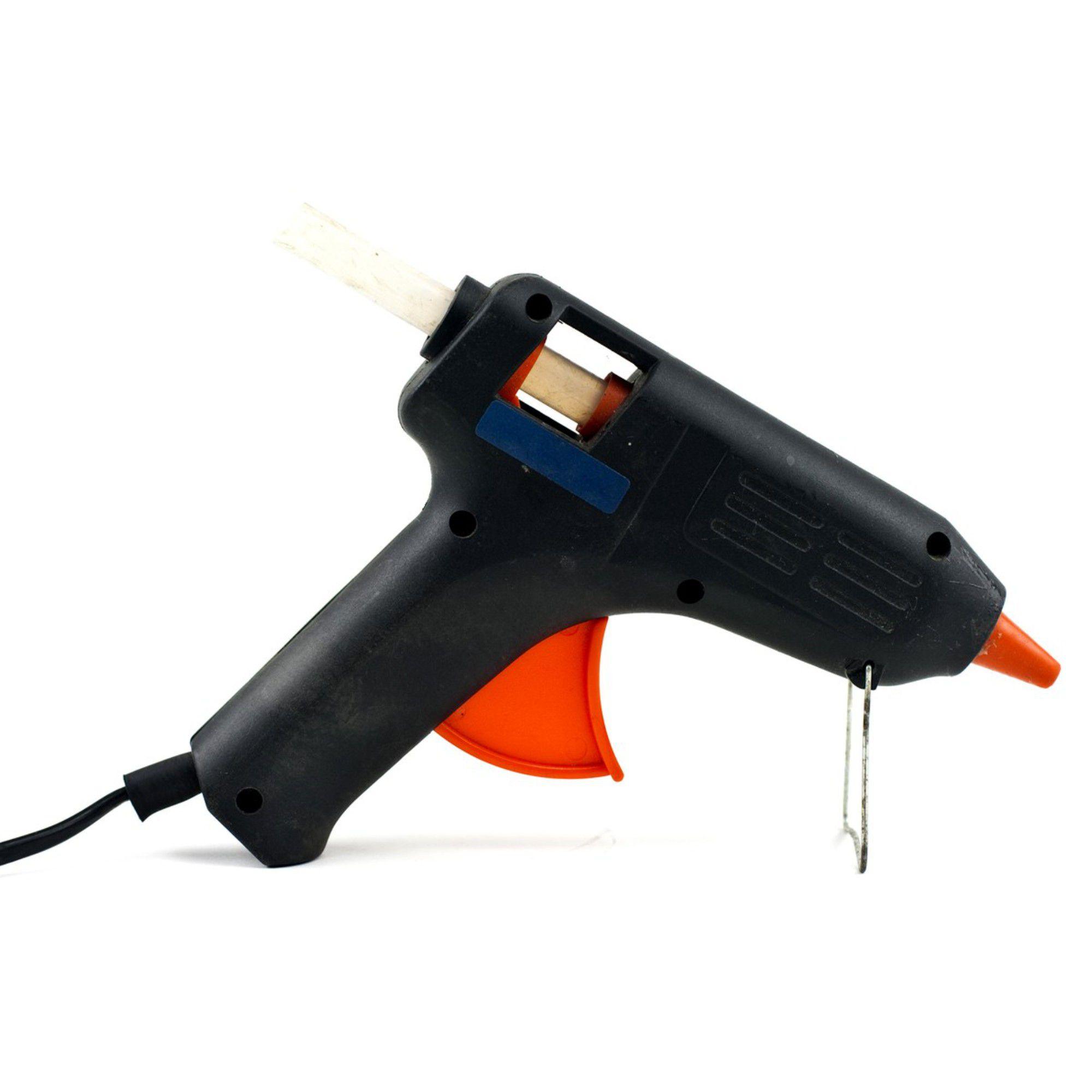 Pistola Aplicador De Cola Quente Profissional Bivolt 10w