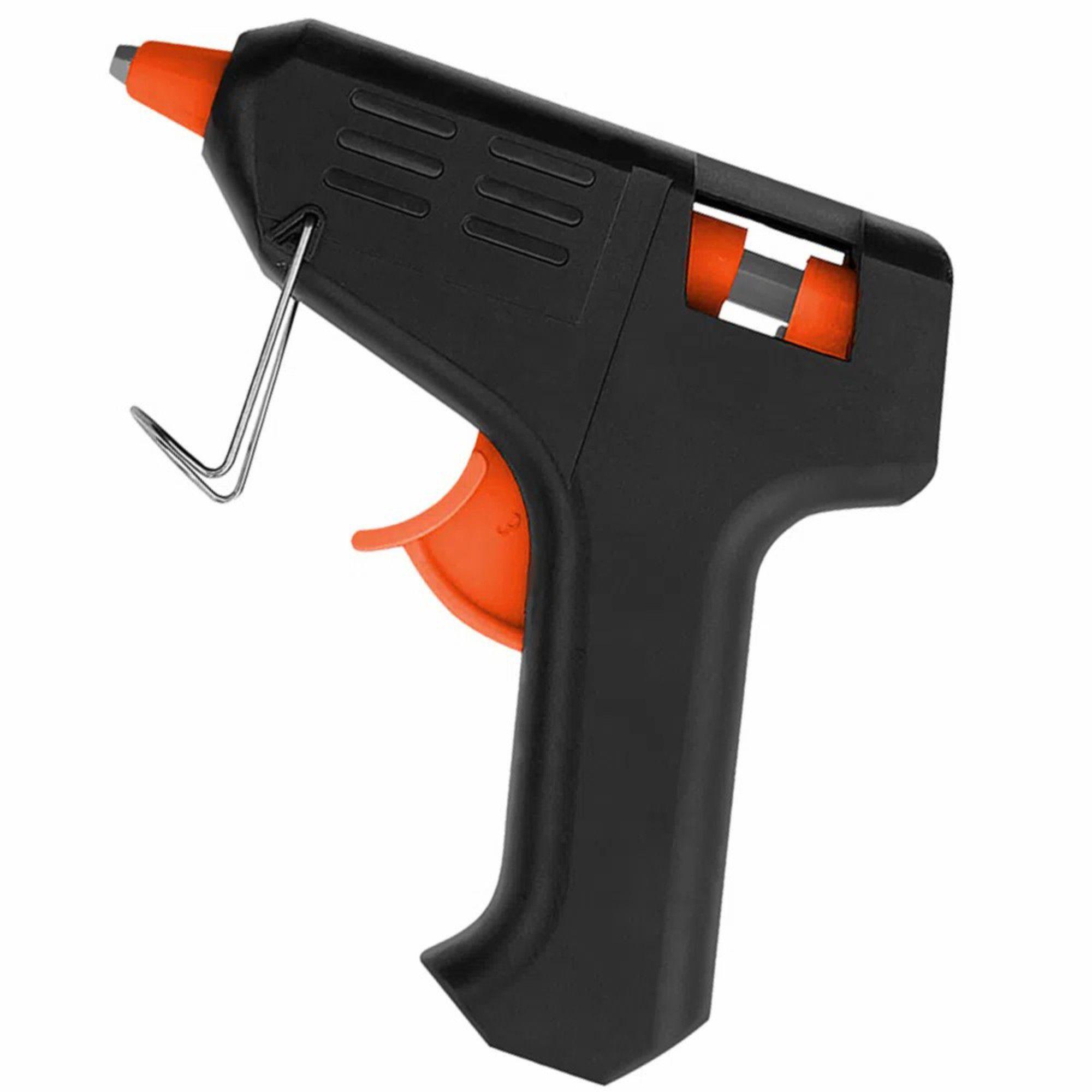 Pistola De Cola Quente Profissional Grande 40w Bi-Volt 11 Mm