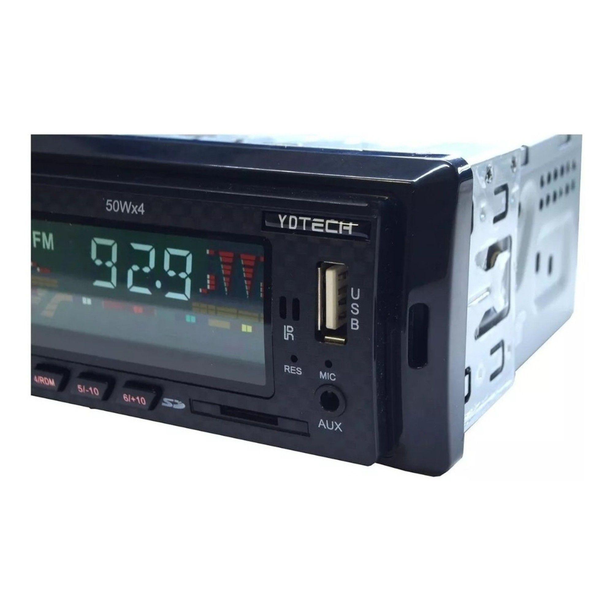Radio Automotivo Mp3 Player Fm Bluetooth Usb Sd