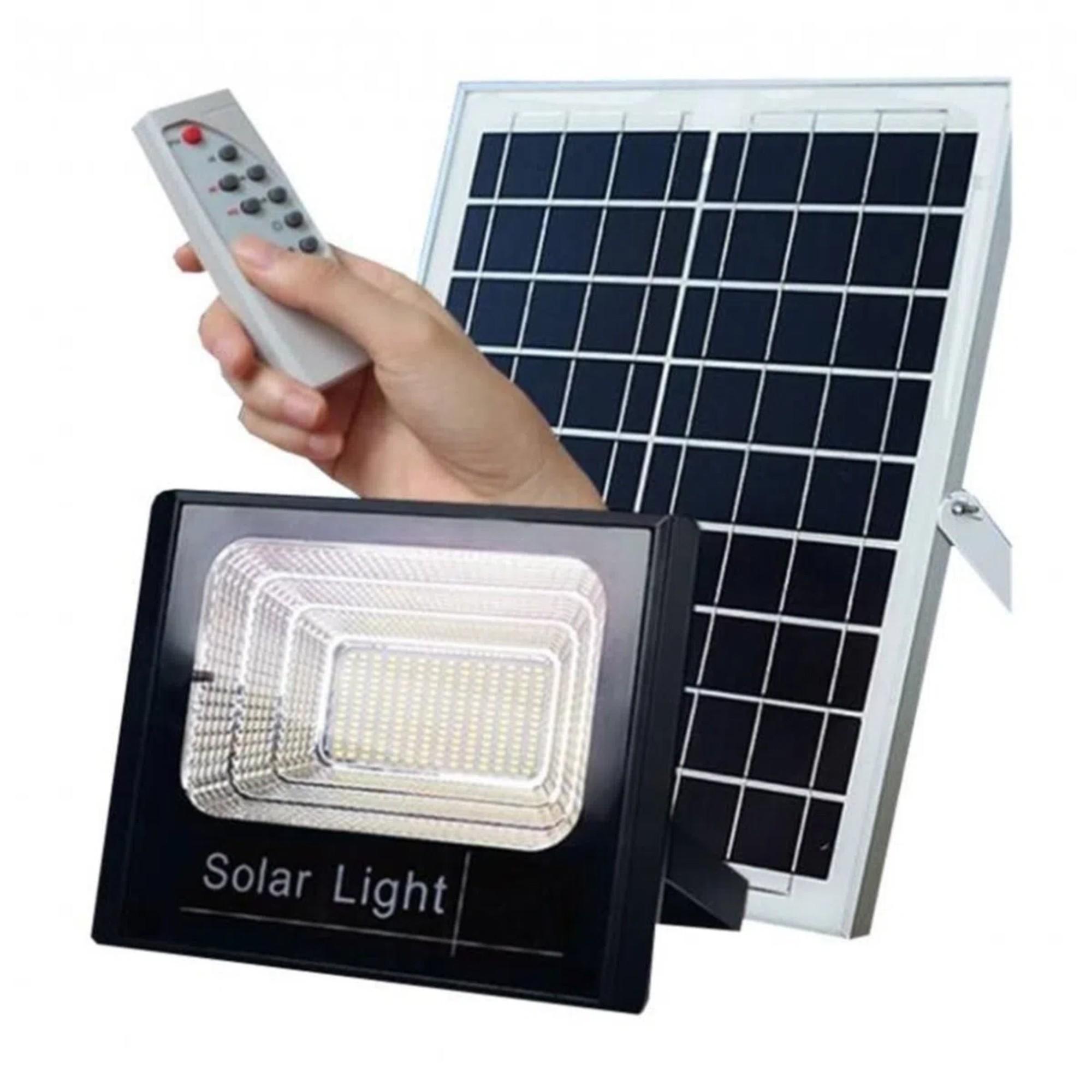 Refletor Solar 50w C/ Placa Solar