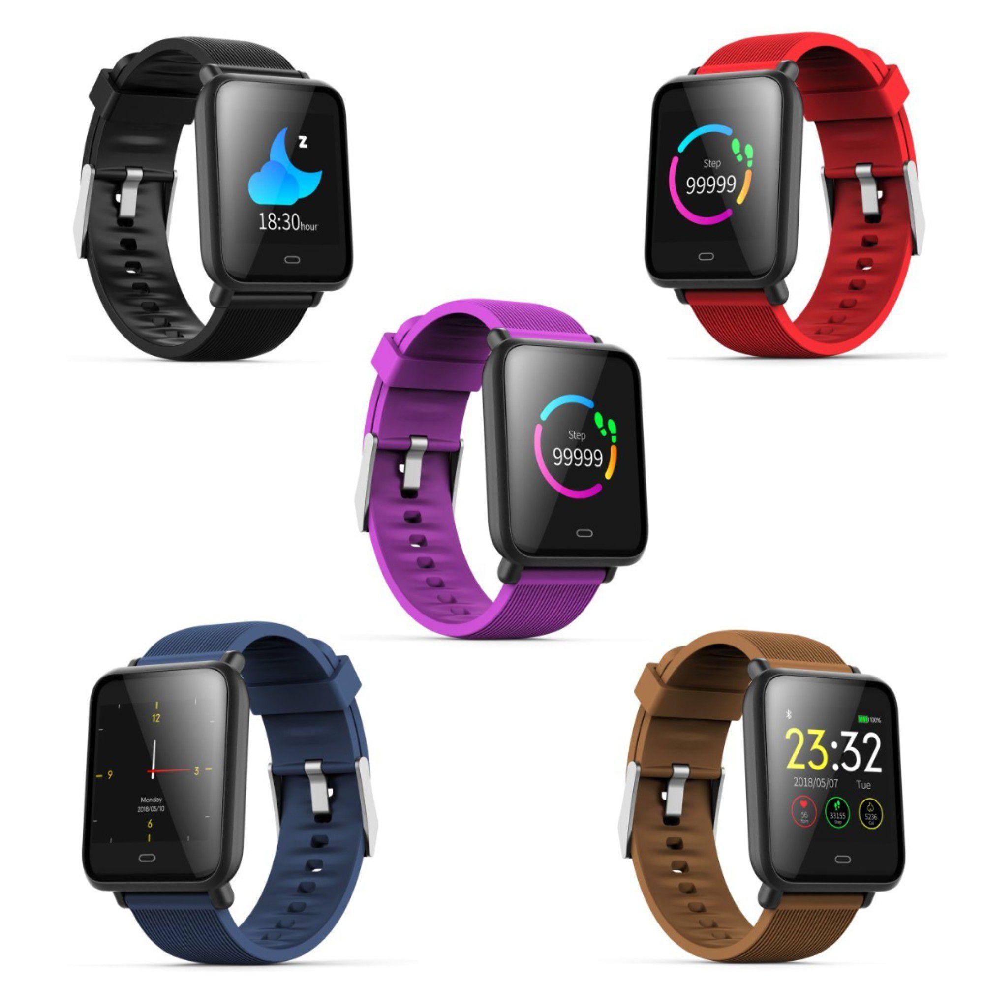 Relógio Smartwatch Q9 Bluetooth C/ 2 Pulseiras