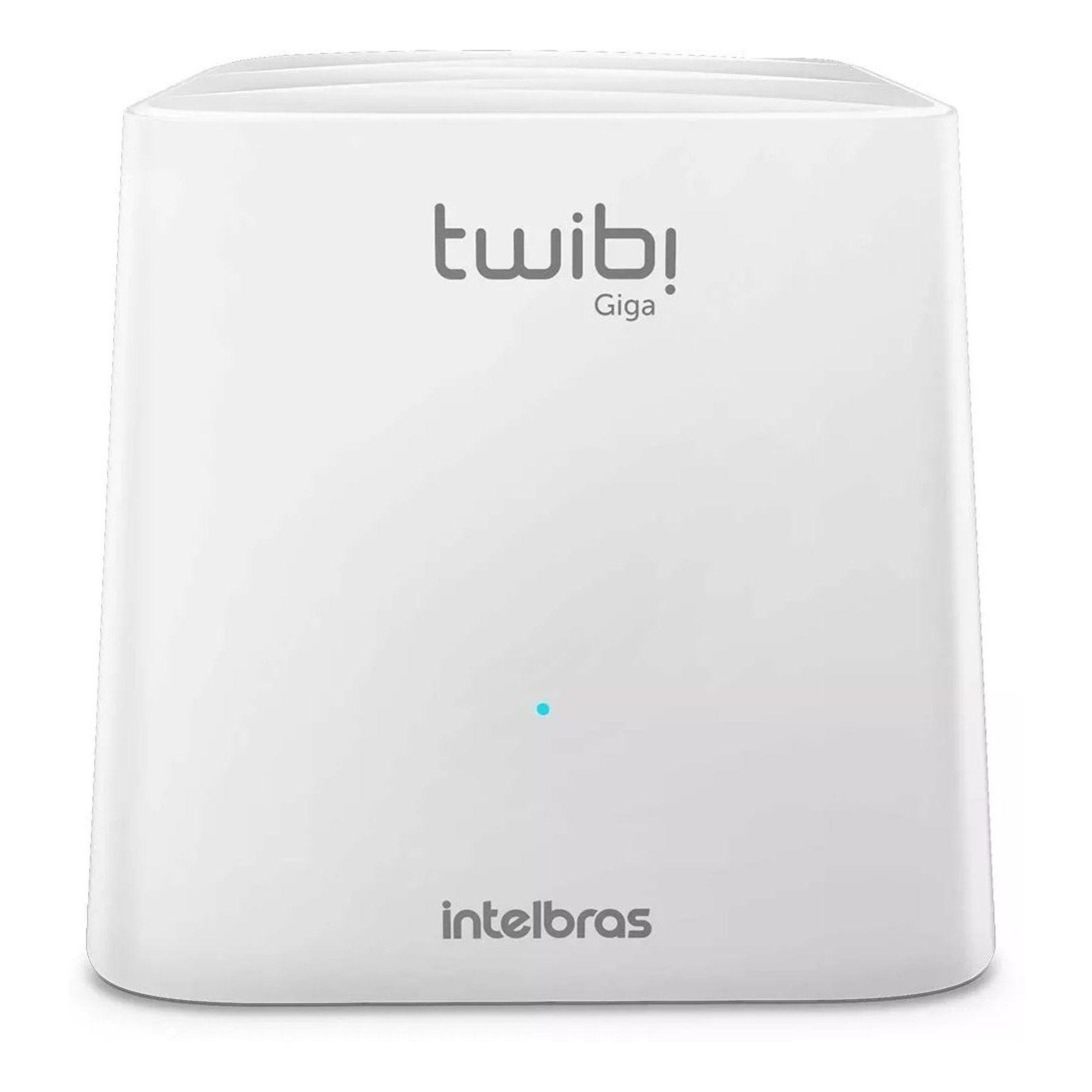 Roteador Intelbras Twibi Wifi Mesh Giga Kit C/ 2 Unidades