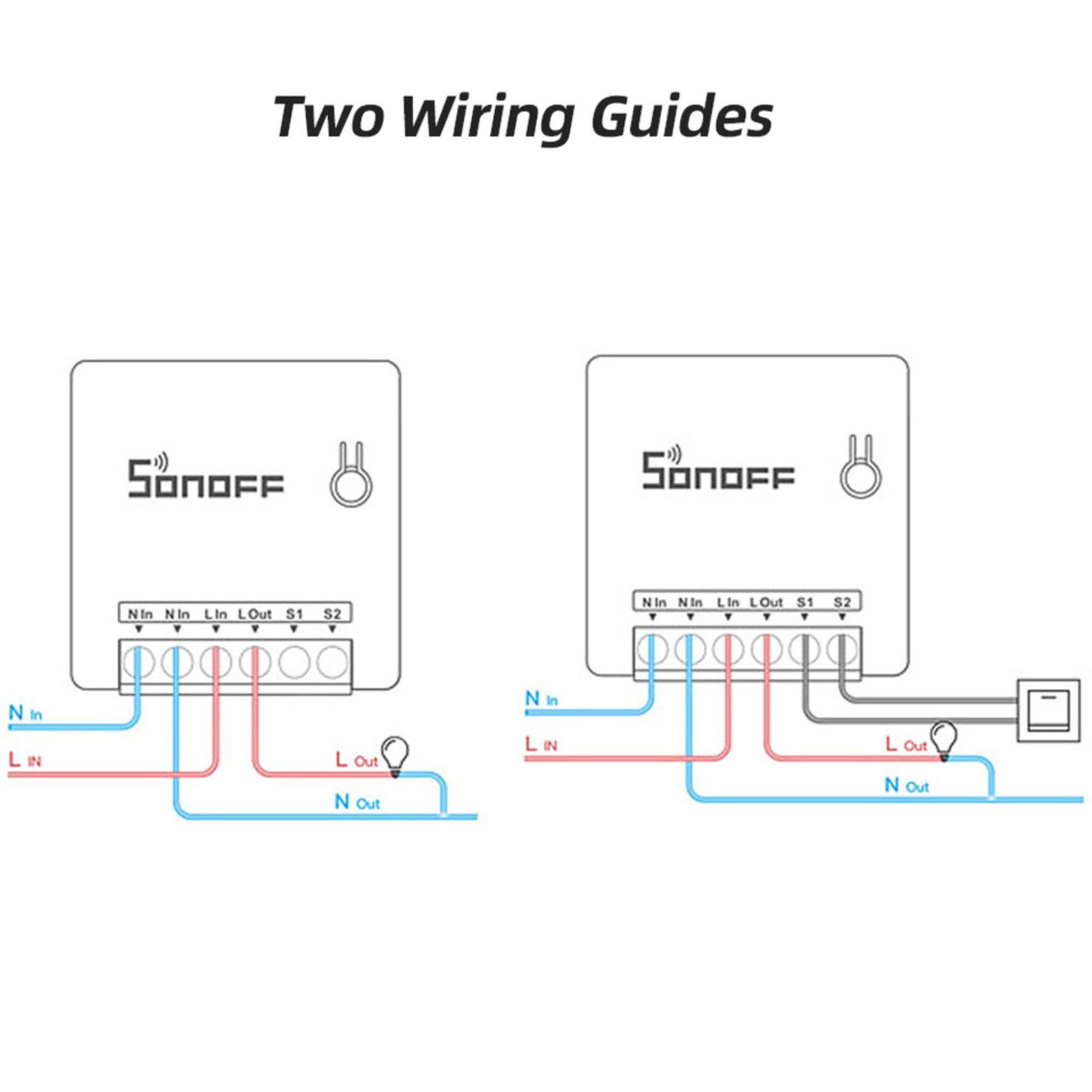 Sonoff Mini Interruptor Wi-Fi Automação Residencial Original