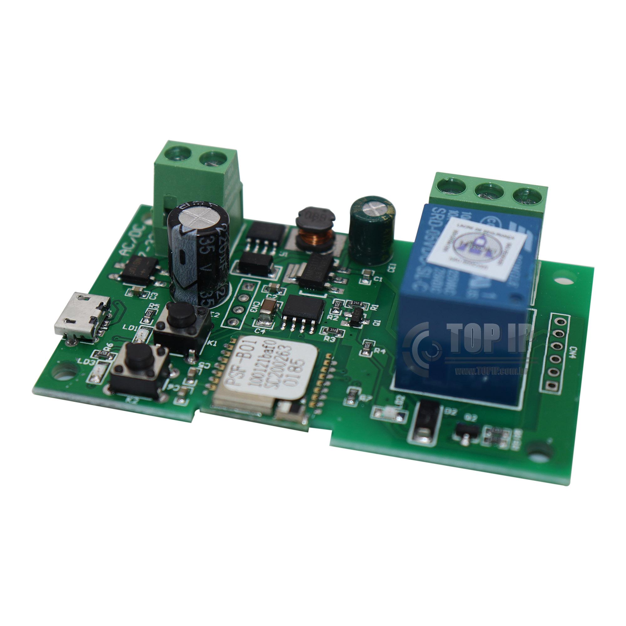 Sonoff Wi-Fi Módulo Relé DC 5V 12V 24V Função Pulso E Retenção